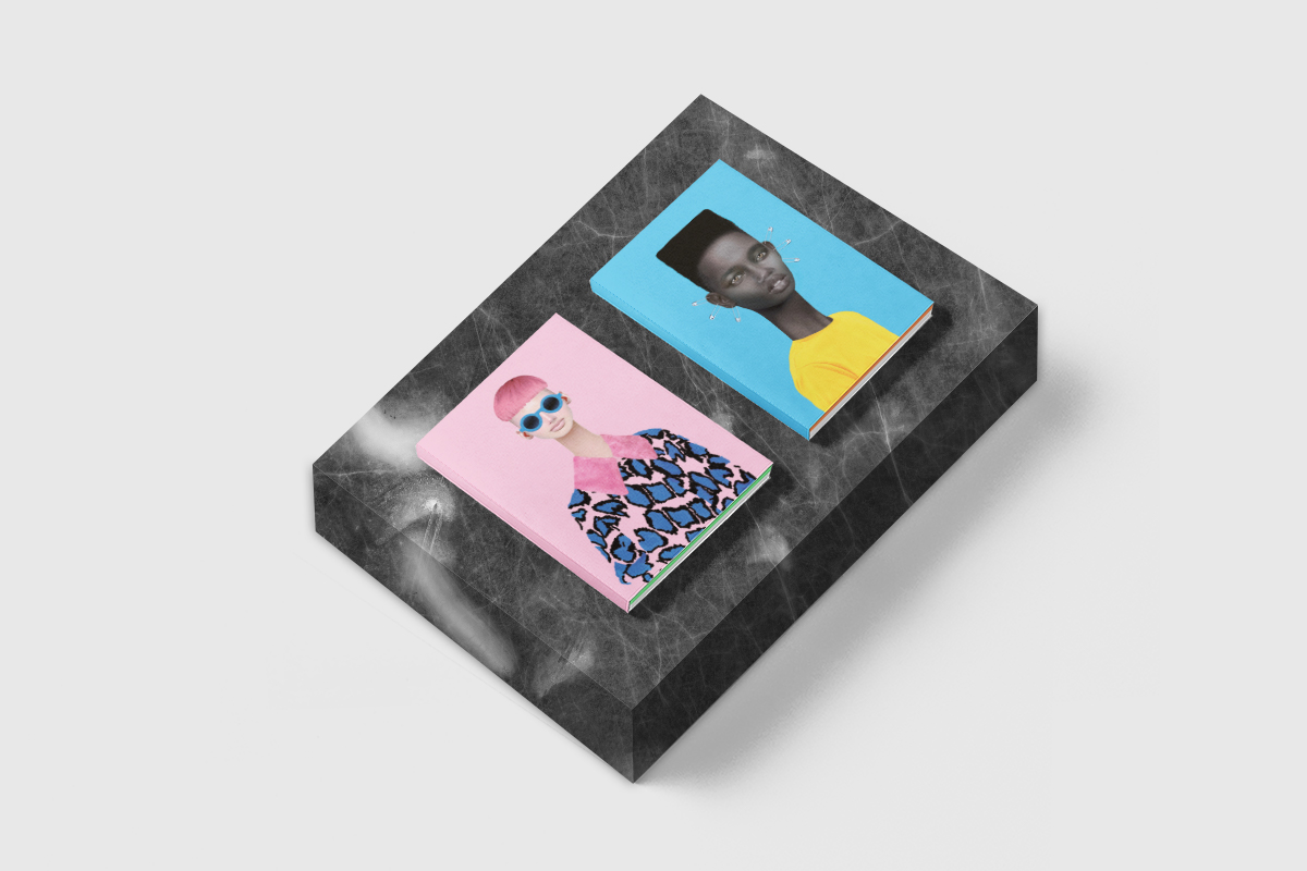 Yarza Twins x Muk Design  limited edition notebook collection