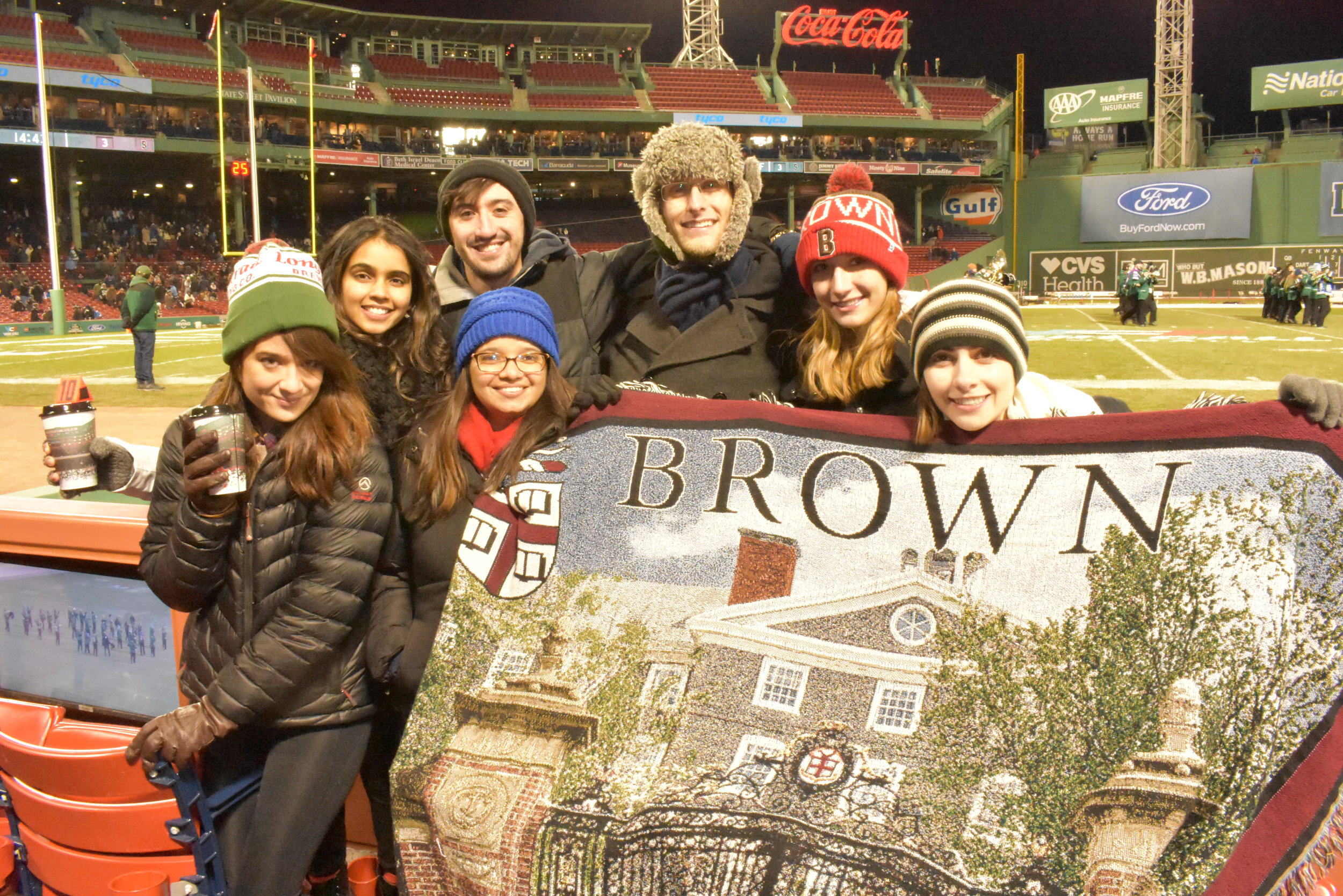 One of the perks of being a grad student at Brown is the amazing colleagues and friends you make. This is one inspirational group!