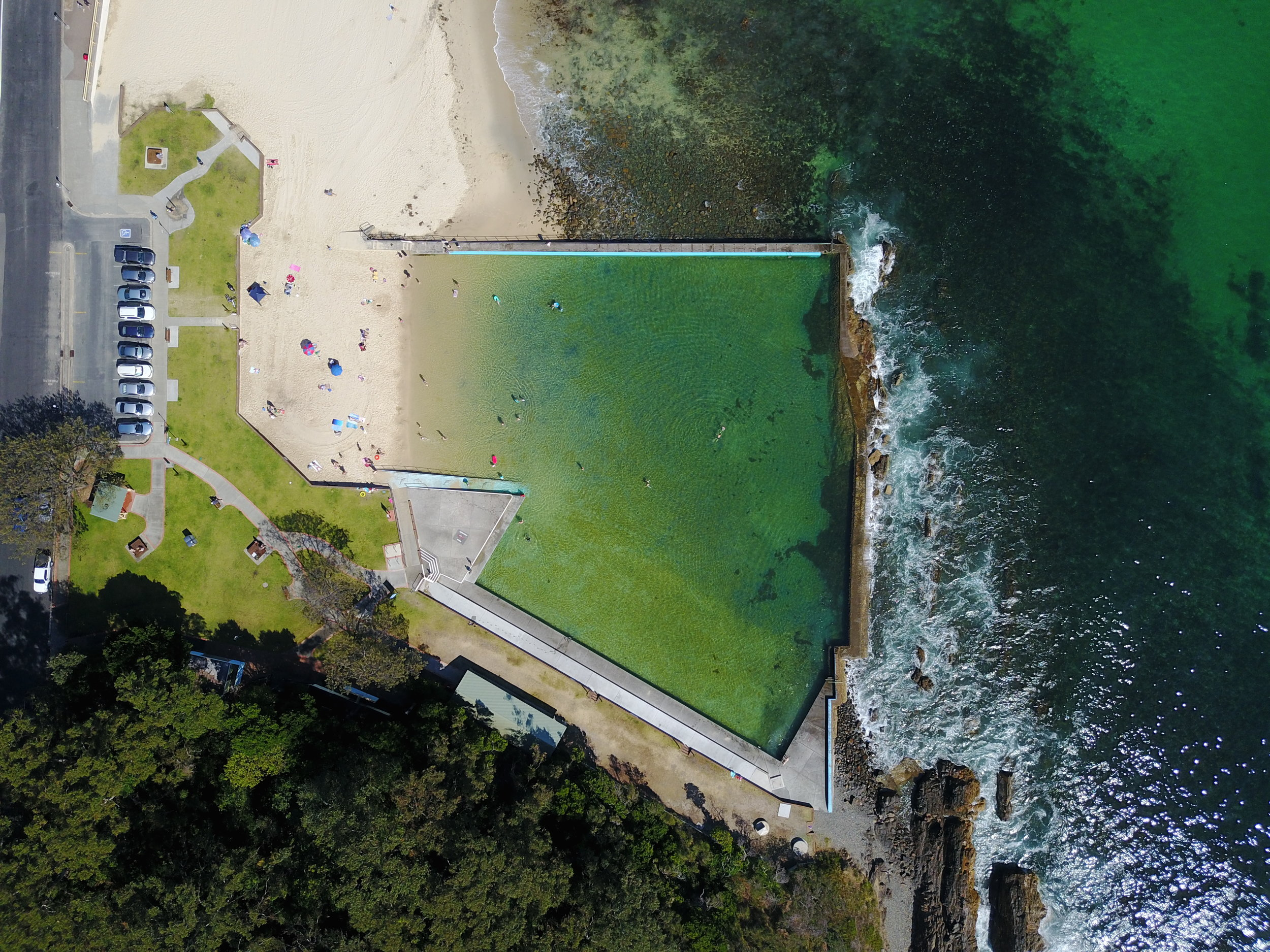 forster - forster ocean baths, nsw