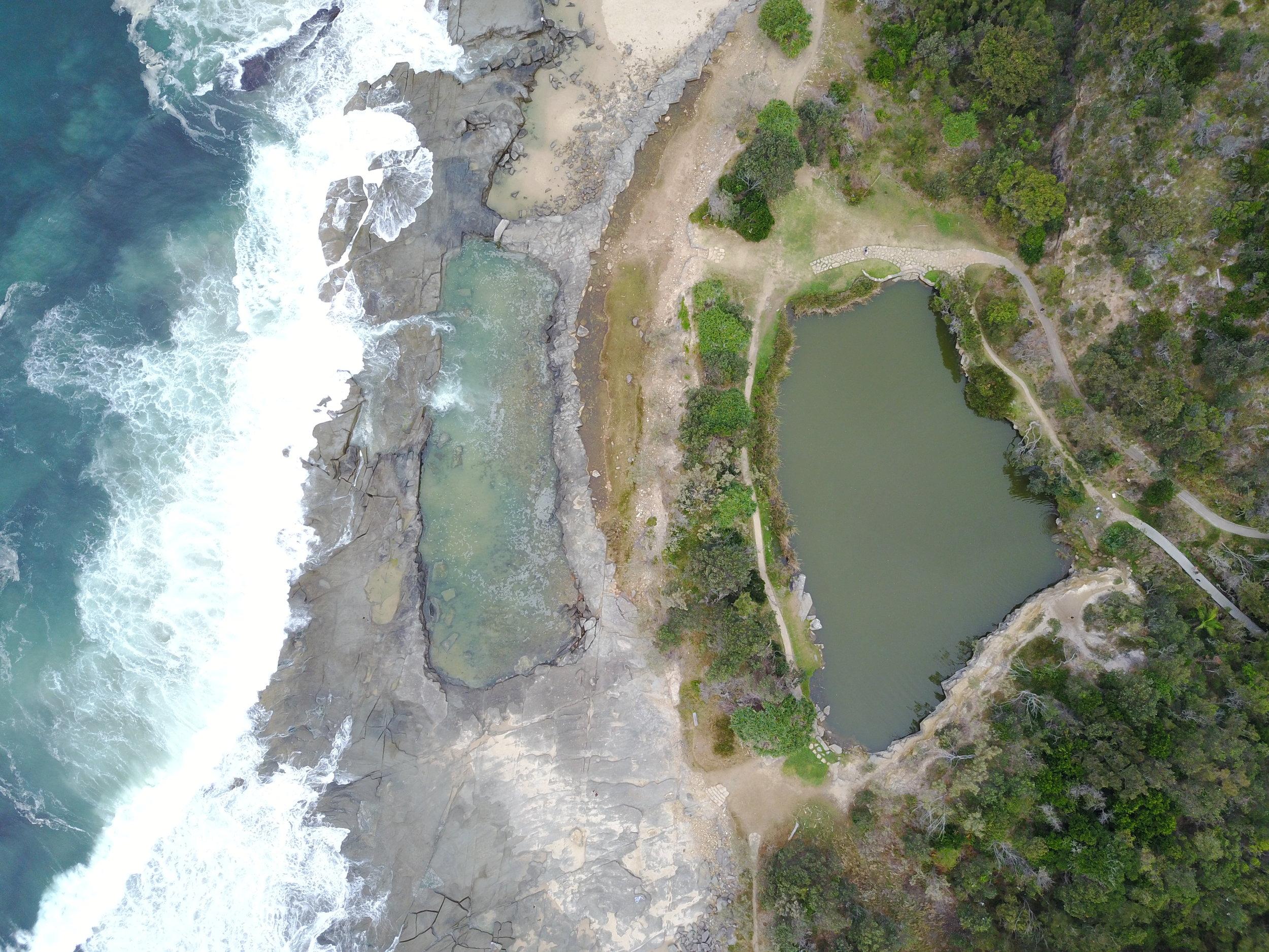 angourie - angourie blue pool, nsw