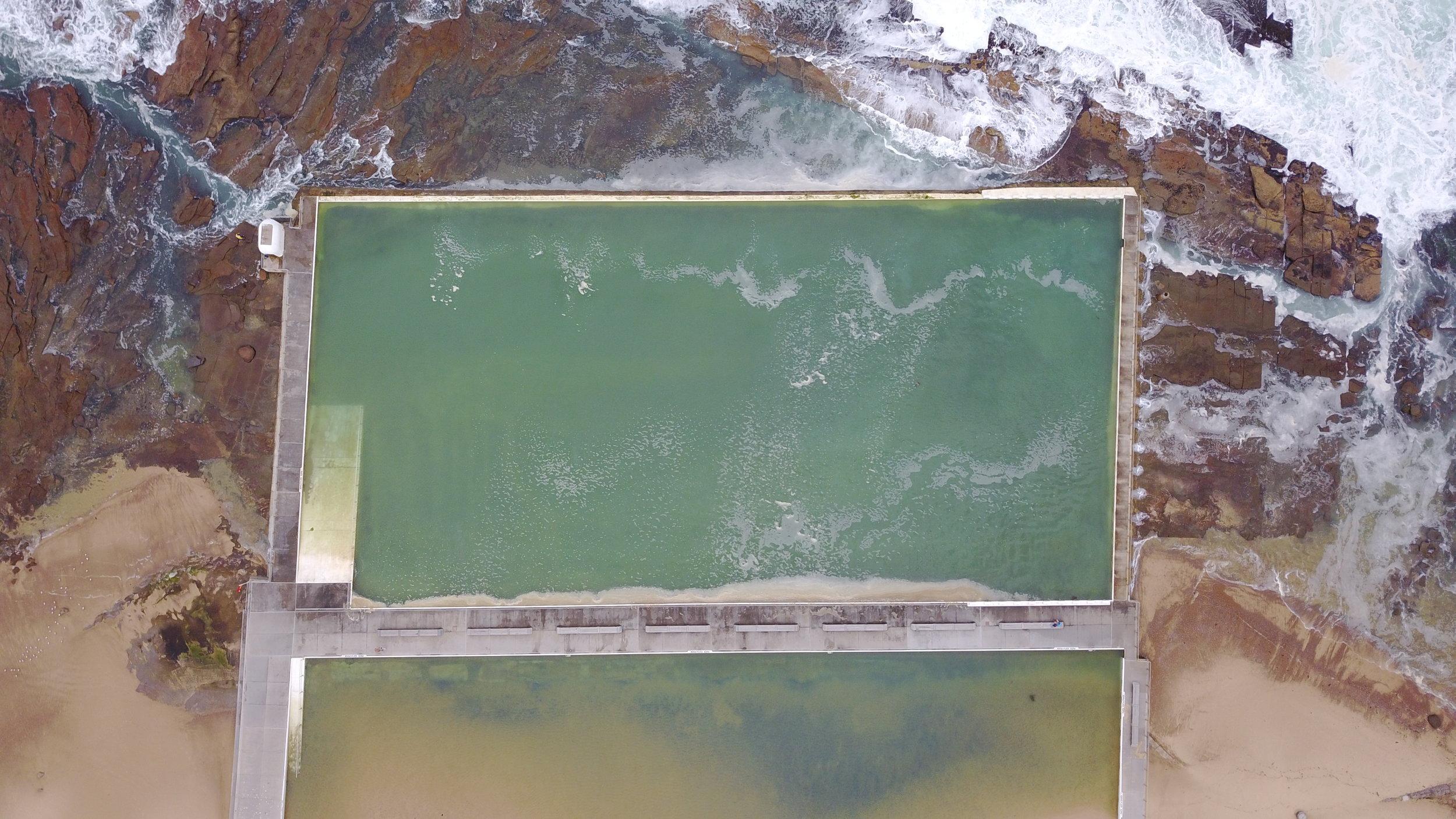 NEWCASTLE - merewhether pool newcastle, nsw