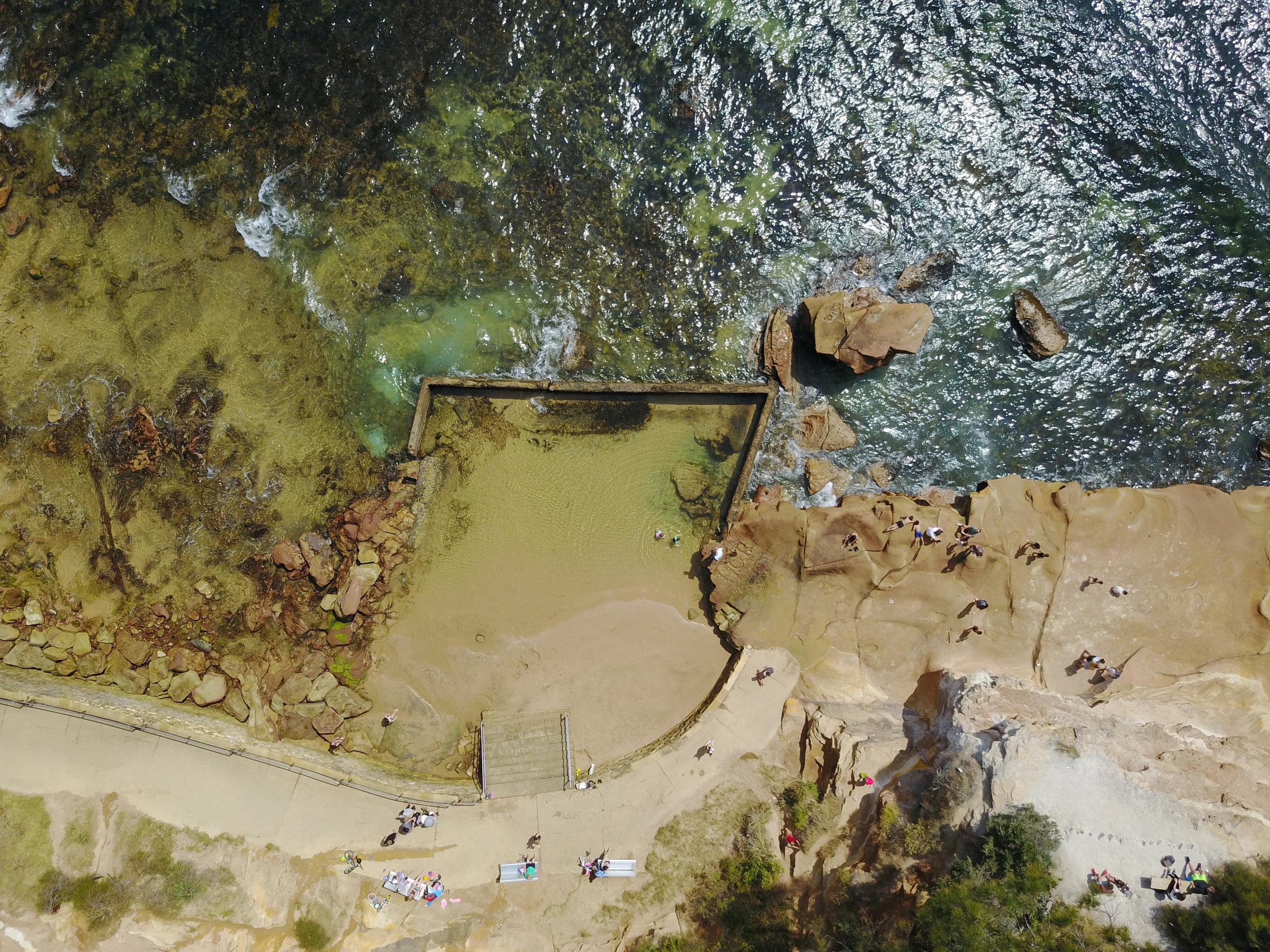 terrigal - terrigal rock pool, nsw