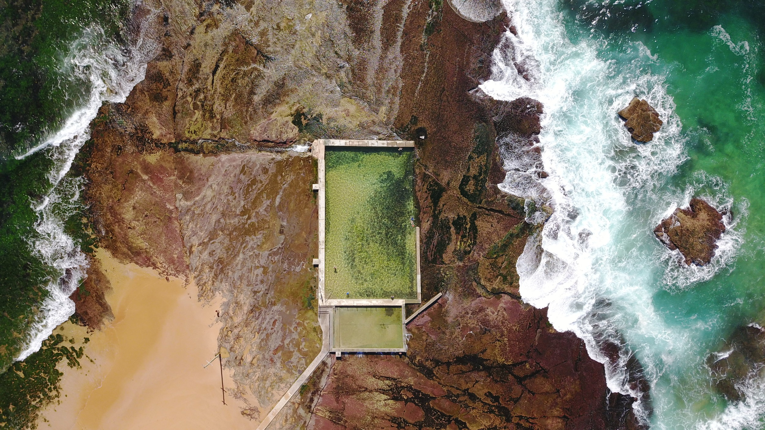 monavale - monavale ocean pool, nsw