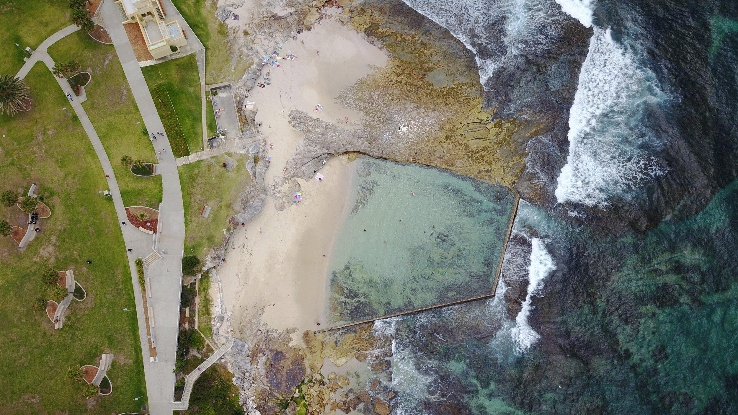 OAK PARK - OAK PARK ocean pool, nsw