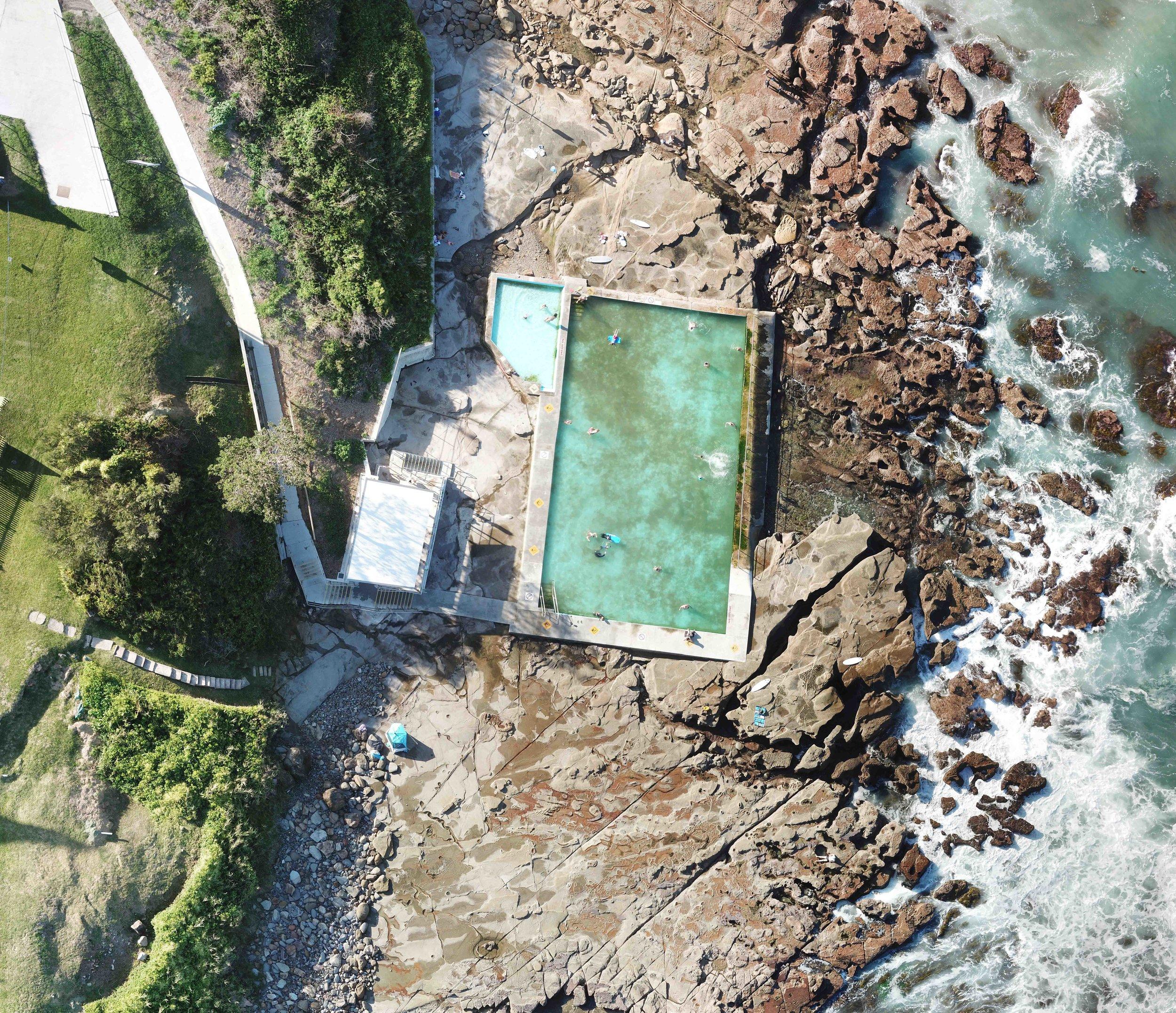 coalcliff - coalcliff ocean pool, nsw