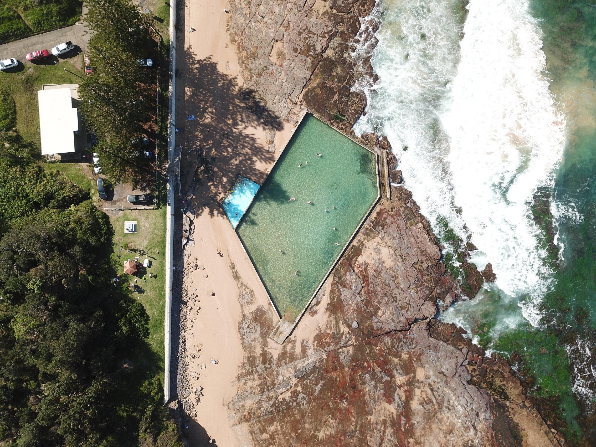 wombarra - wombarra ocean pool, nsw