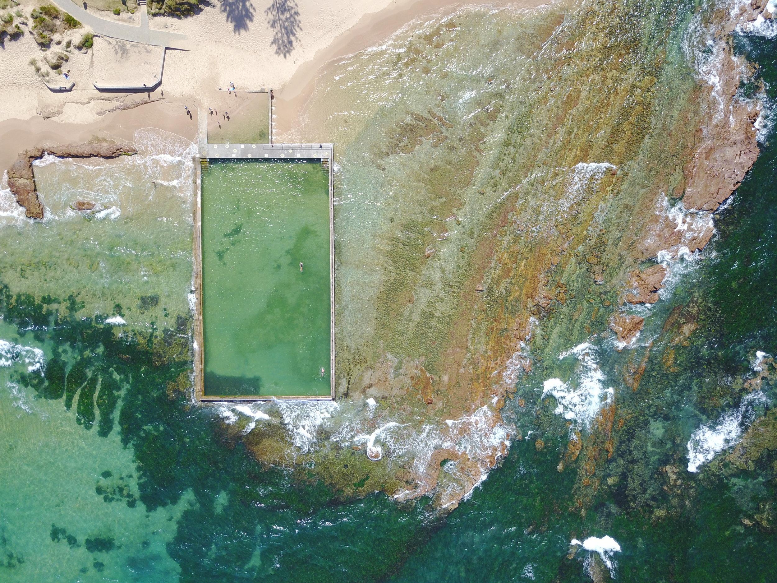 bulli - bulli ocean pool, nsw