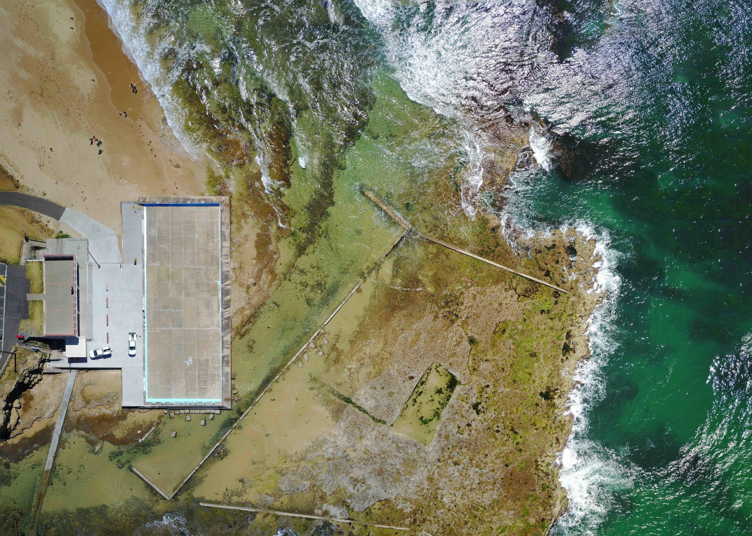 woonona - woonona ocean pool, nsw