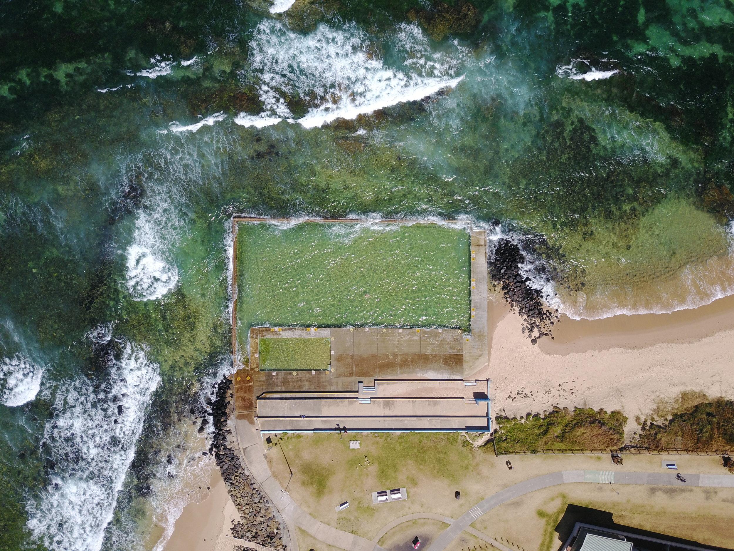 towradgi - towradgi ocean pool, nsw