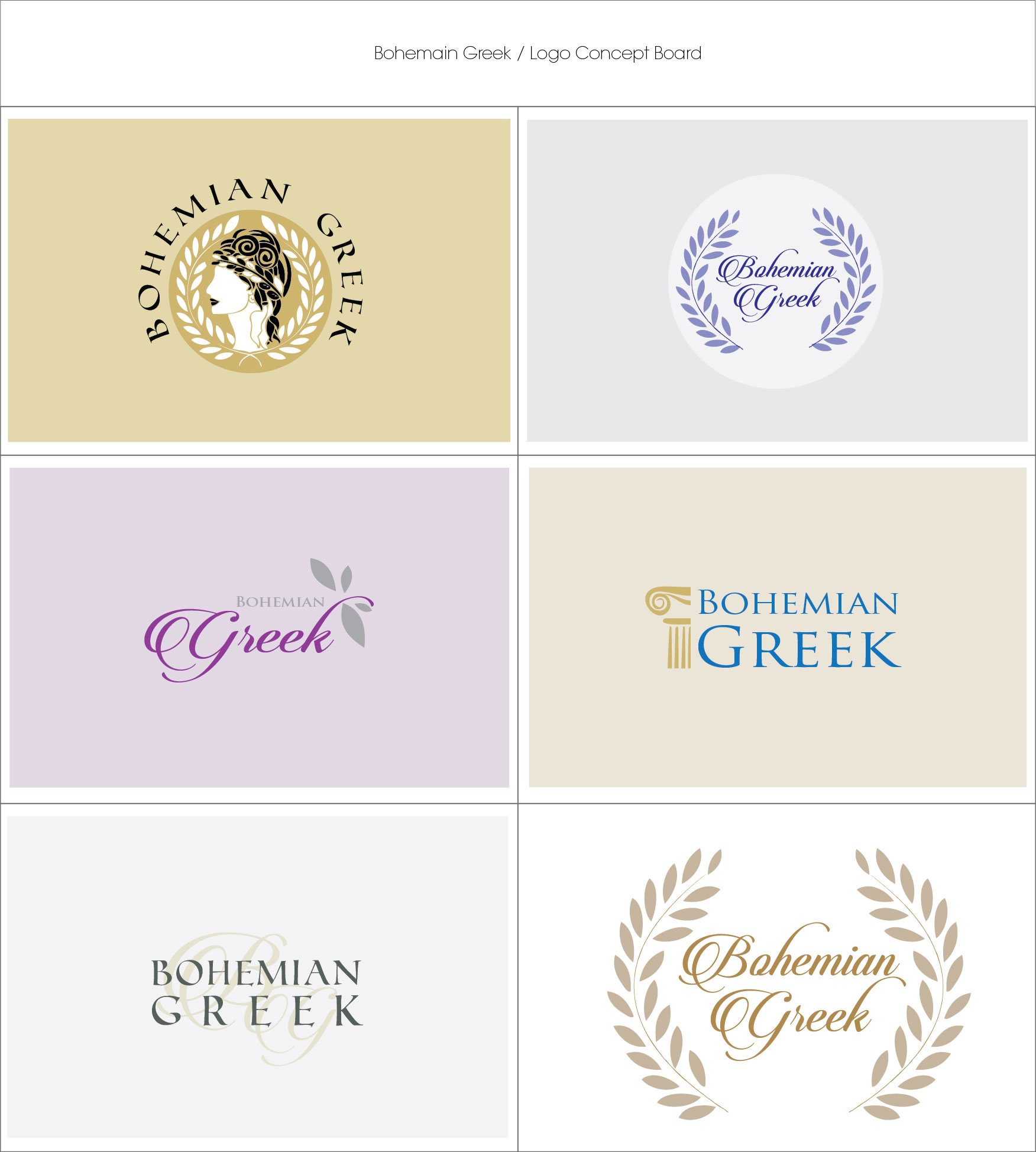 Portfolio | Bohemian Greek | MNFL-Design