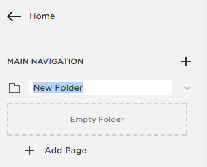 Adding a drop down menu in Squarespace | MNFL Design