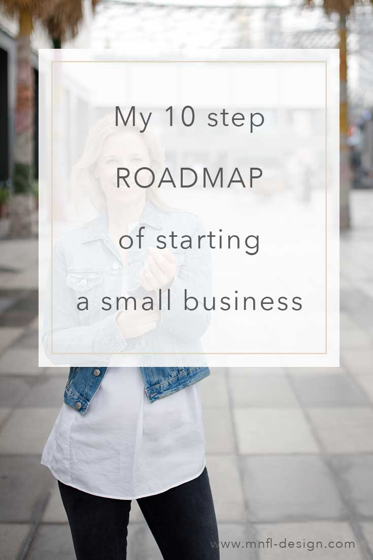 My 10 Step Roadmap of starting a Small Business | MNFL Design