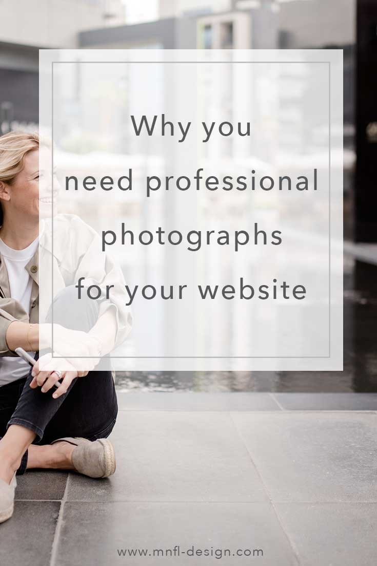 Why you need professional photography for your website | MNFL Design