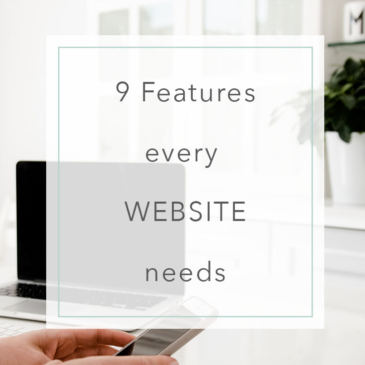 9 Features every website needs   MNFL Design