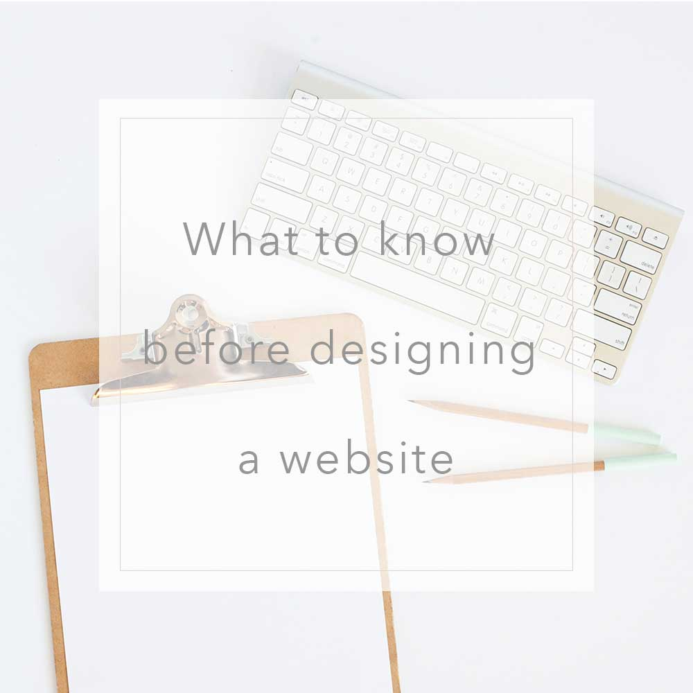 What to think about before designing a website | MNFL Design