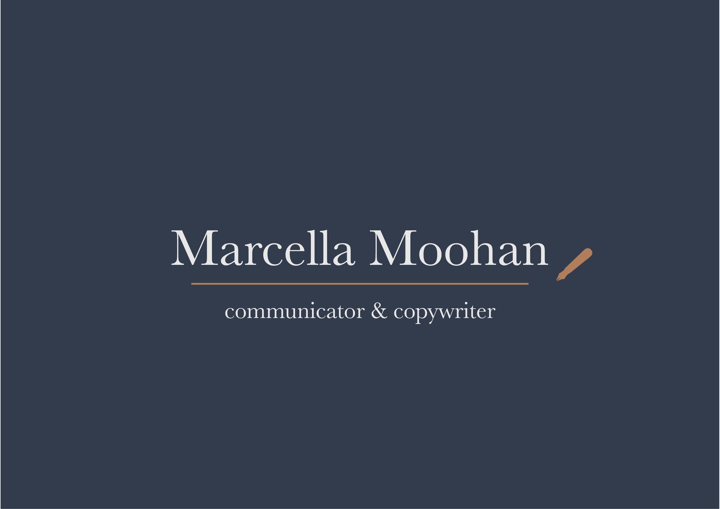 Marcella Moohan Branding Process | MNFL Design