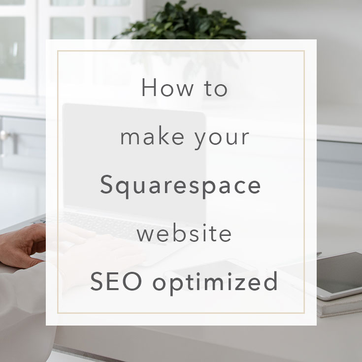 SEO Guide Squarespace | MNFL Design