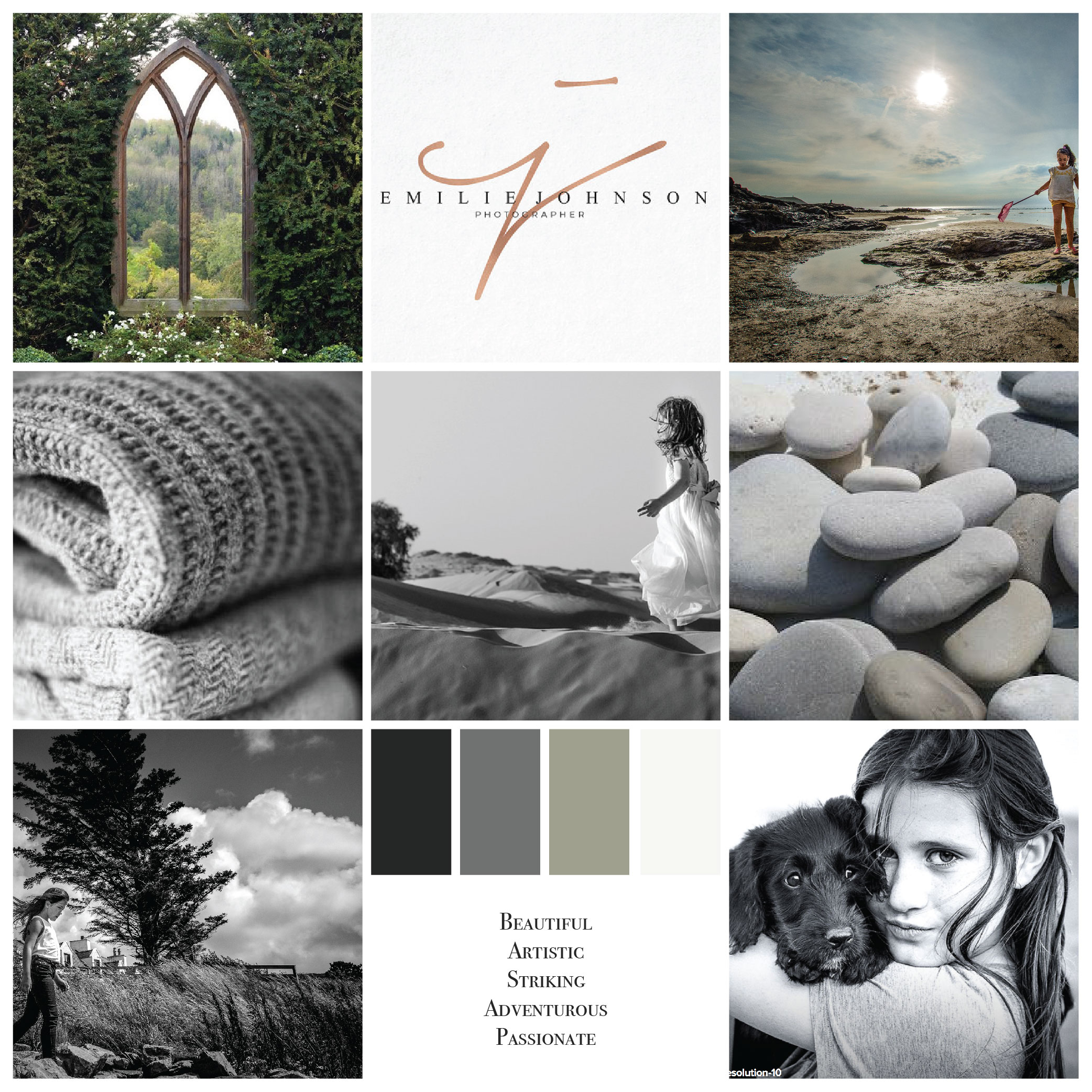 Moodboard Branding Jodi Davies Photography | MNFL Design