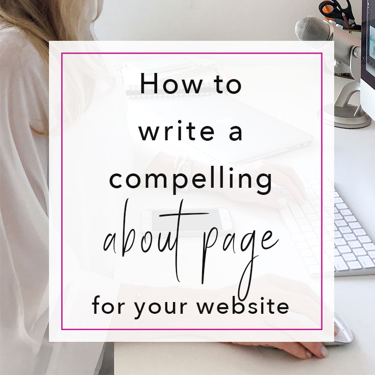 How to write an about page | Emilia Ohrtmann