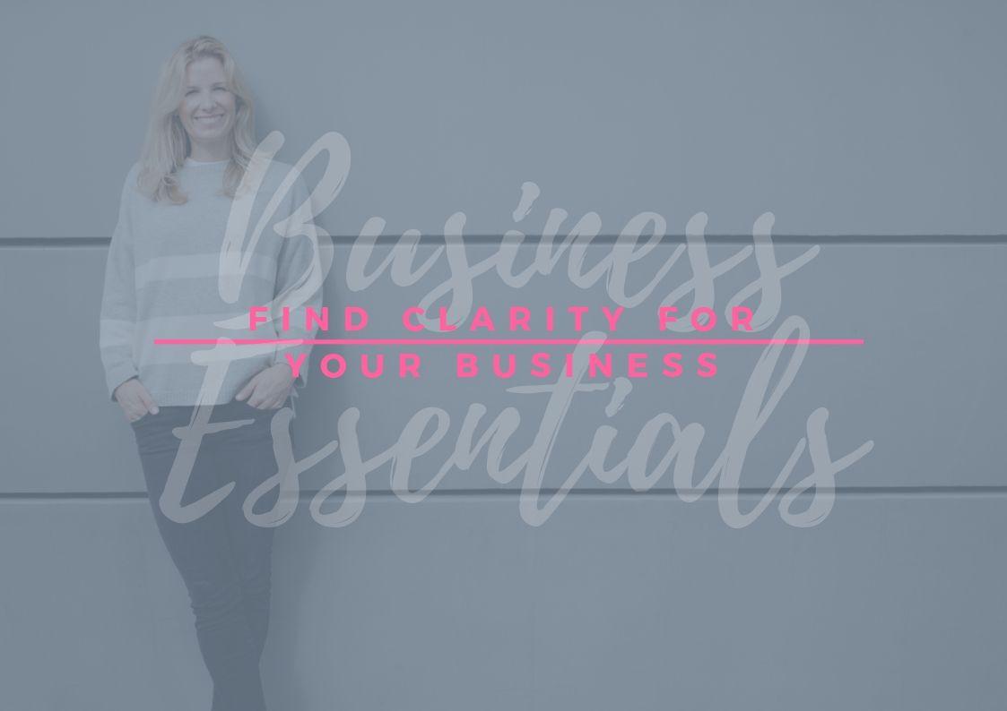 BUSINESS ESSENTIALS | Mission Statement | Visions Statement | Clarity course | Emilia Ohrtmann