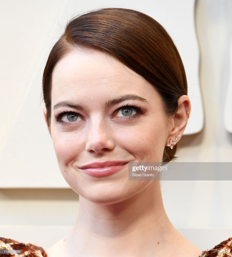 HOLLYWOOD, CALIFORNIA - FEBRUARY 24: Emma Stone arrives at the 91st Annual Academy Awards at Hollywood and Highland on February 24, 2019 in Hollywood, California. (Photo by Steve Granitz/WireImage)