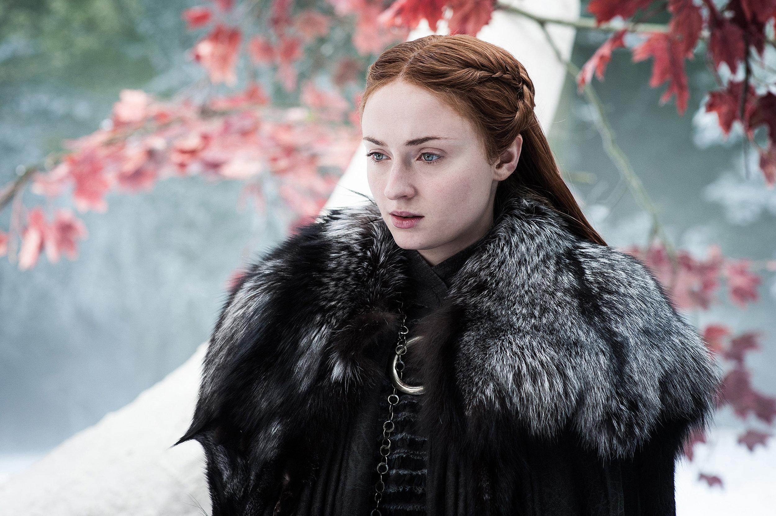 Sansa Stark, HBO Courtesy