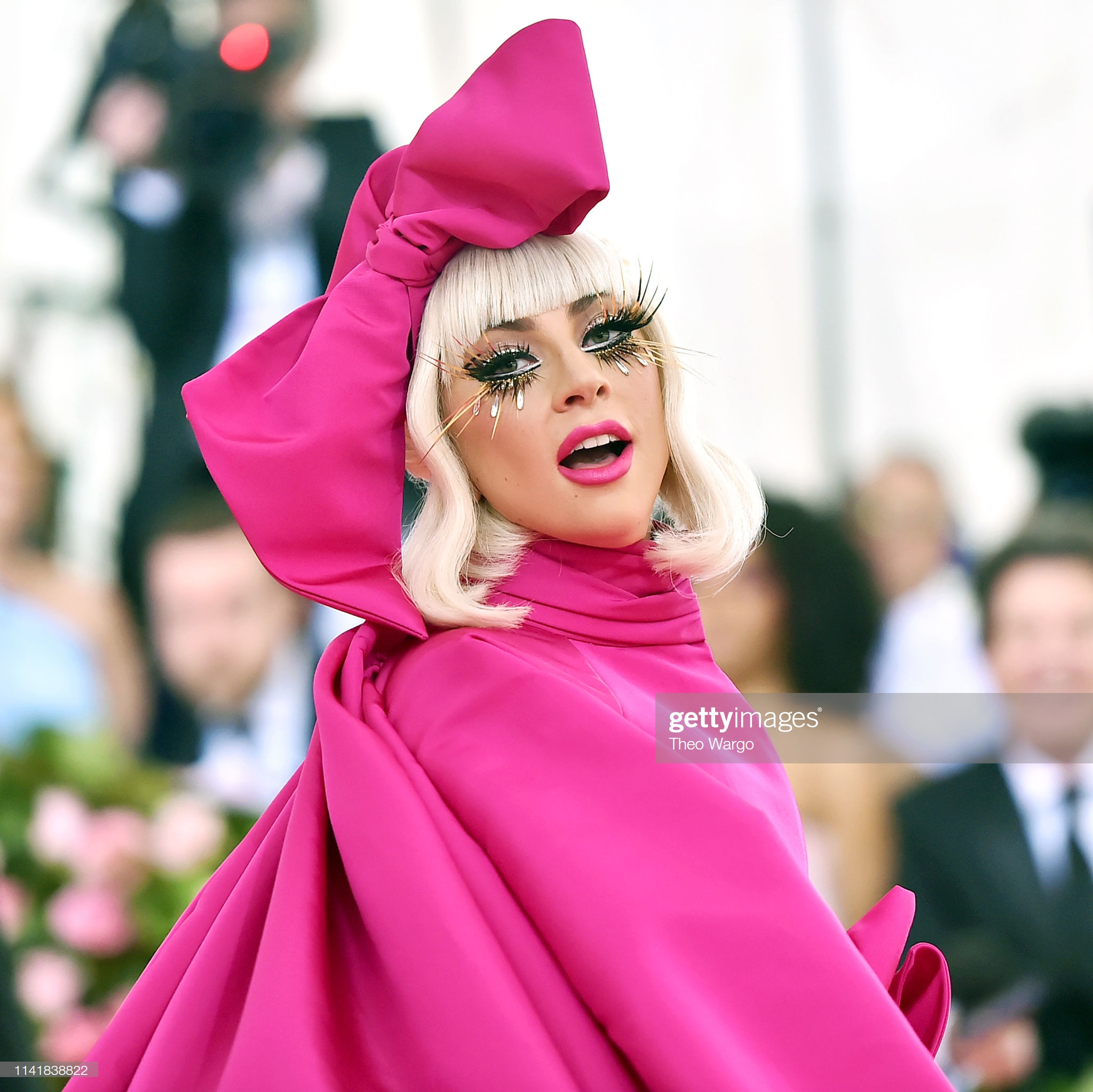 NEW YORK, NEW YORK - MAY 06: Lady Gaga attends The 2019 Met Gala Celebrating Camp: Notes on Fashionat Metropolitan Museum of Art on May 06, 2019 in New York City. (Photo by Theo Wargo/WireImage)