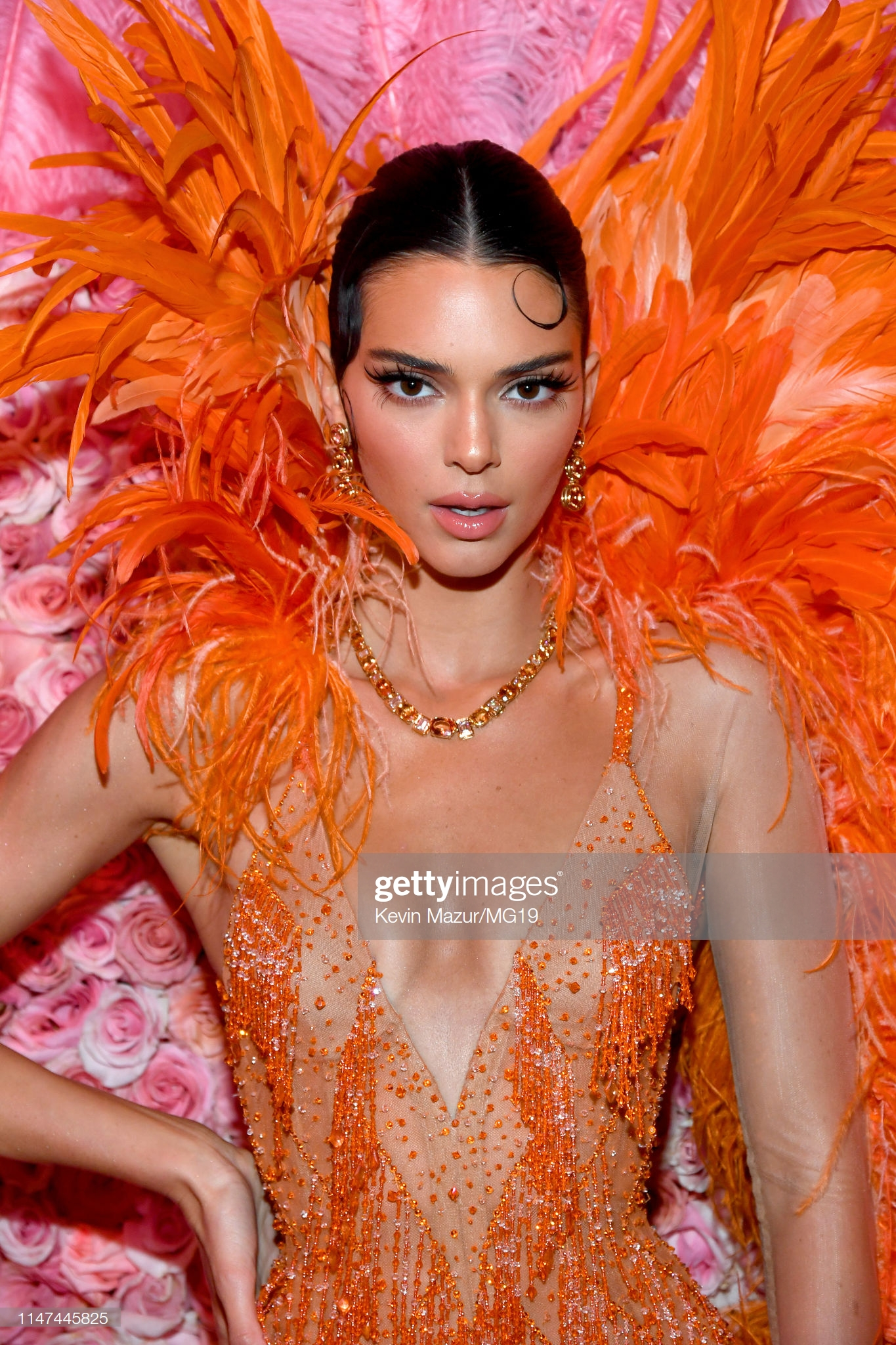 NEW YORK, NEW YORK - MAY 06: Kendall Jenner attends The 2019 Met Gala Celebrating Camp: Notes on Fashion at Metropolitan Museum of Art on May 06, 2019 in New York City. (Photo by Kevin Mazur/MG19/Getty Images for The Met Museum/Vogue)