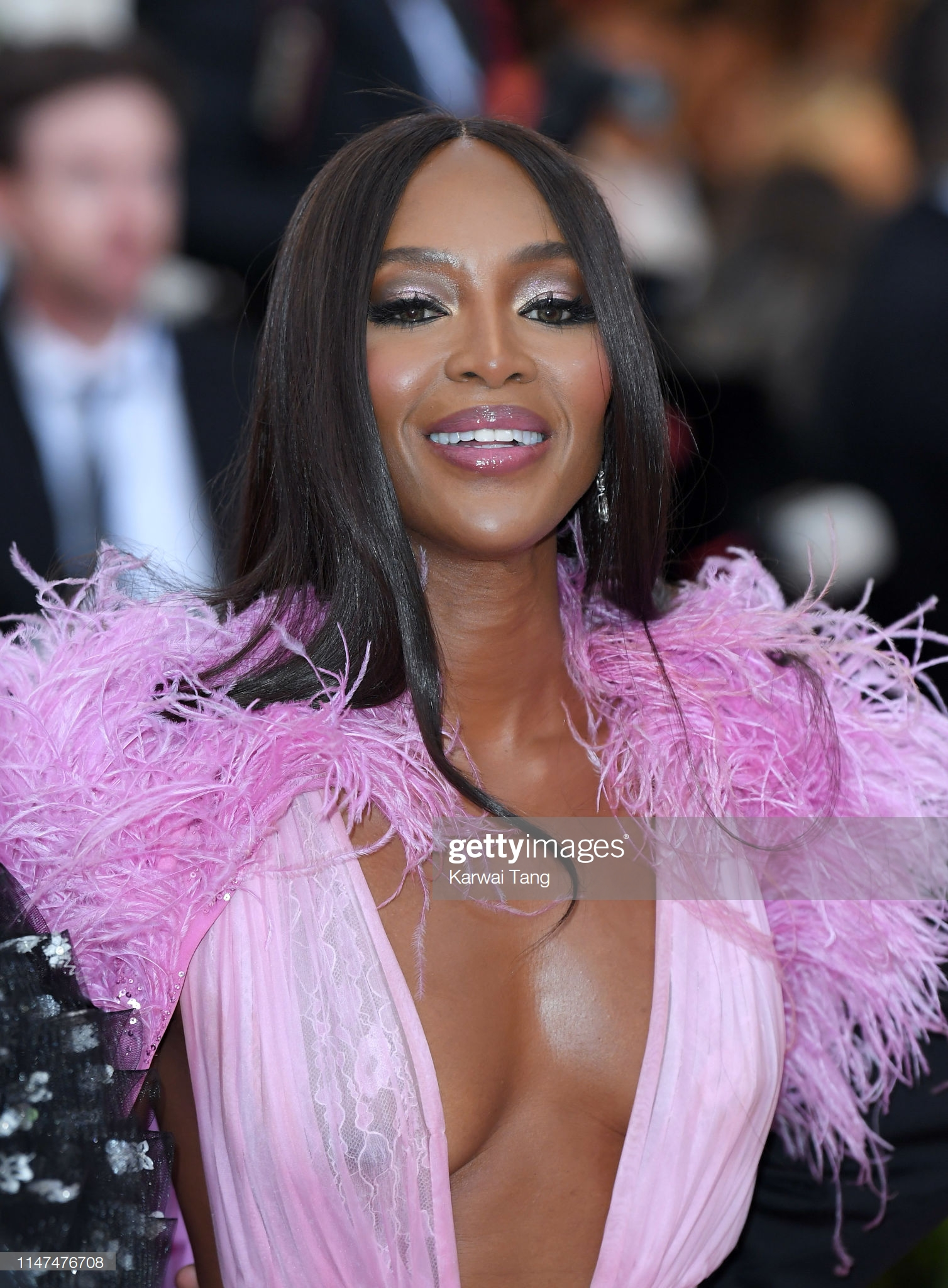 NEW YORK, NEW YORK - MAY 06: Naomi Campbell  arrives for the 2019 Met Gala celebrating Camp: Notes on Fashion at The Metropolitan Museum of Art on May 06, 2019 in New York City. (Photo by Karwai Tang/Getty Images)