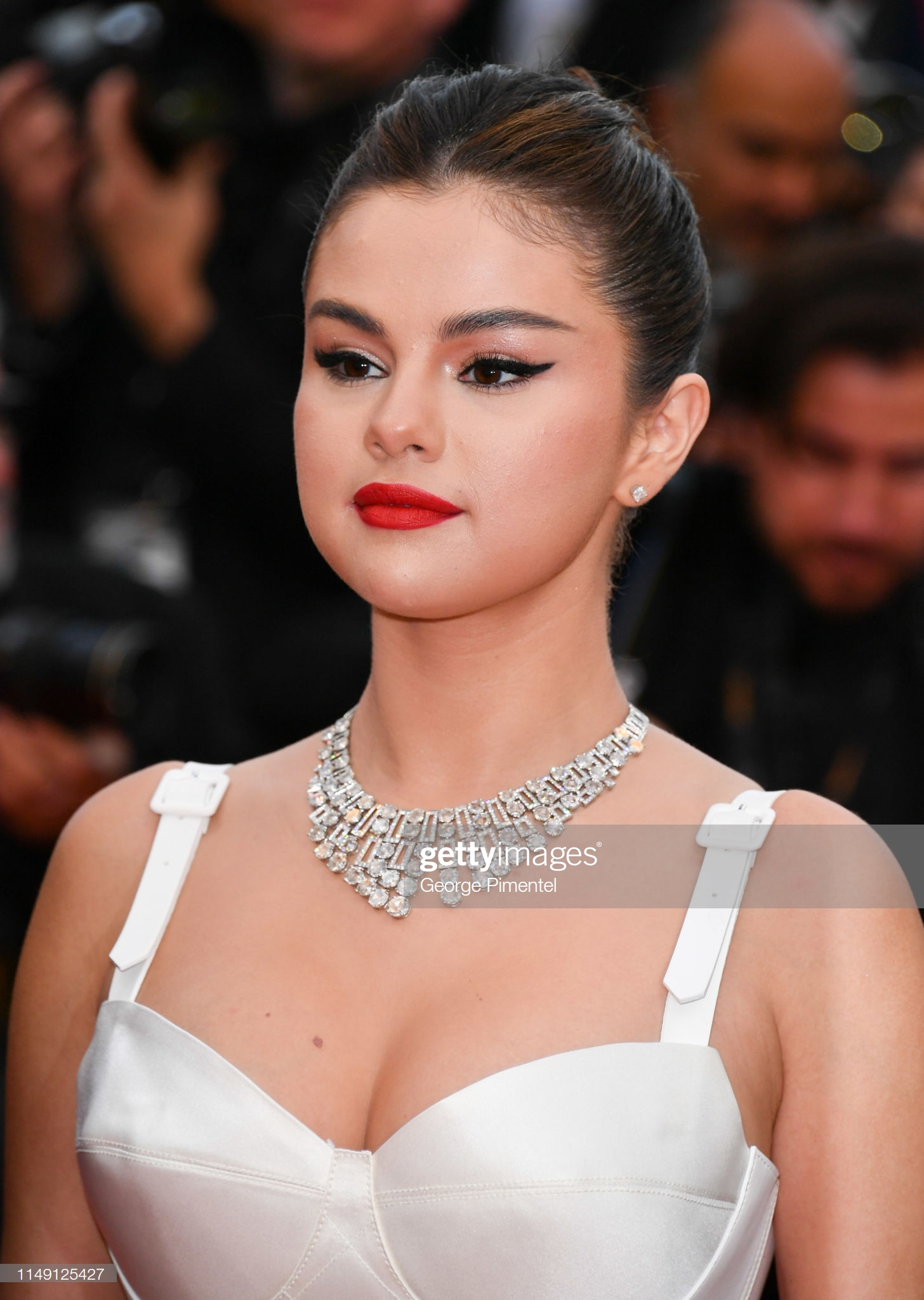 "CANNES, FRANCE - MAY 14: Selena Gomez attends the opening ceremony and screening of ""The Dead Don't Die"" during the 72nd annual Cannes Film Festival on May 14, 2019 in Cannes, France. (Photo by George Pimentel/WireImage)"