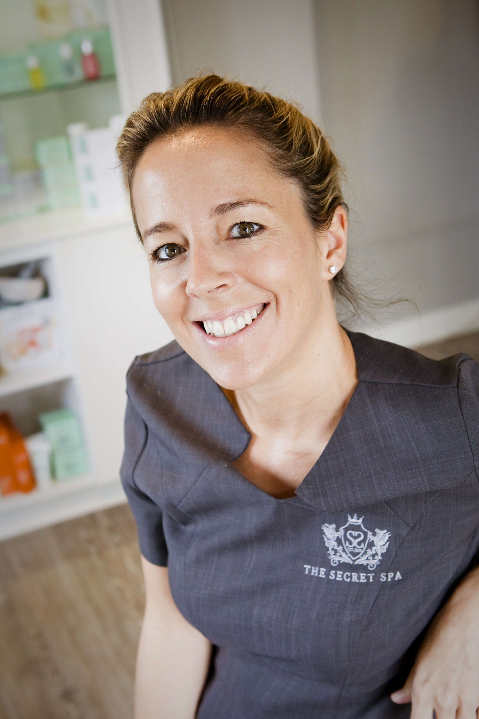 Becky   As founder of the Secret Spa and with 21 years of experience in the beauty industry, Becky is a specialist in skin therapy. With a babtec facialist and beauty therapist award to her name, Becky has created her own treatment 'The Signature Facial' which she is renowned for. The signature Facial uses specialist techniques to relax the body and mind, and Darphin facial products to treat any skin concern.