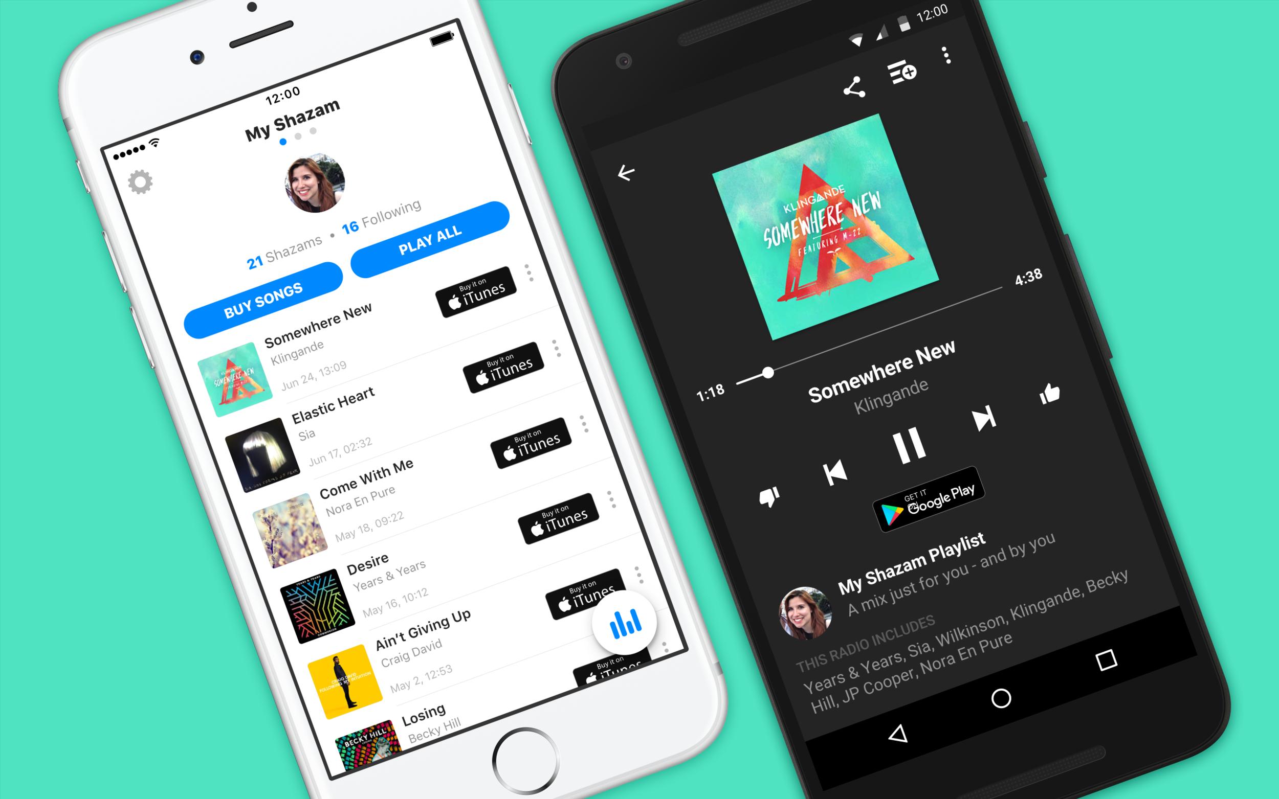 Shazam Product Design — ellie pujol