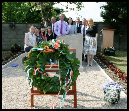 Mountrath Historical Society pictured at the official opening of The Peace Garden in Mountrath in May 2016