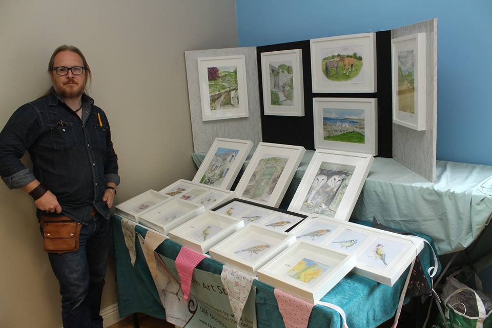 - Darren's Framed Watercolours, to Niamh's mouthwatering Cakes and Bakes from Aghaboe Farm Foods.