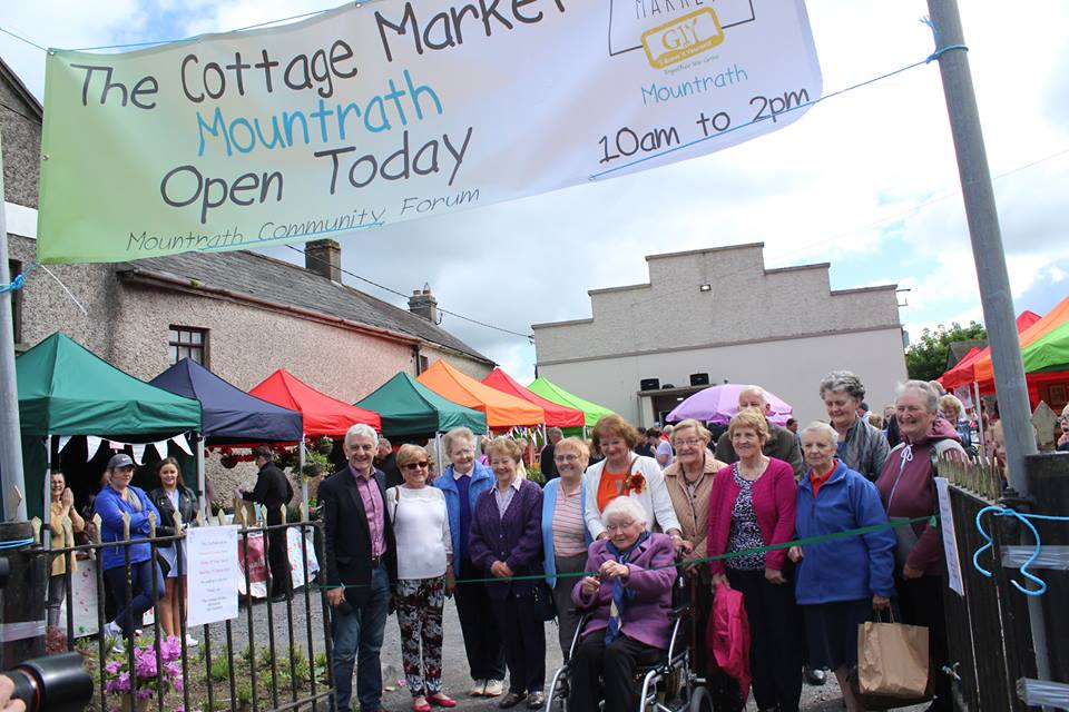- The Cottage Market in Mountrath at The Macra Hall, will take place on the first Saturday of every month 10am – 2pm.
