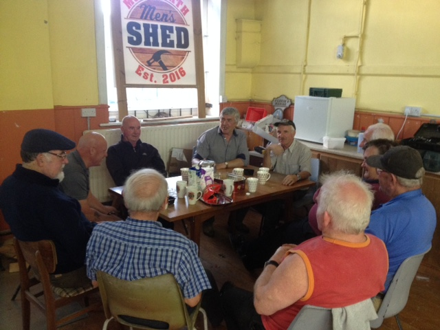 - Have you considered calling in to the Men's Shed Mountrath and getting involved? Do you know of any men who would be interested in the Men's Shed? New members are always welcome.