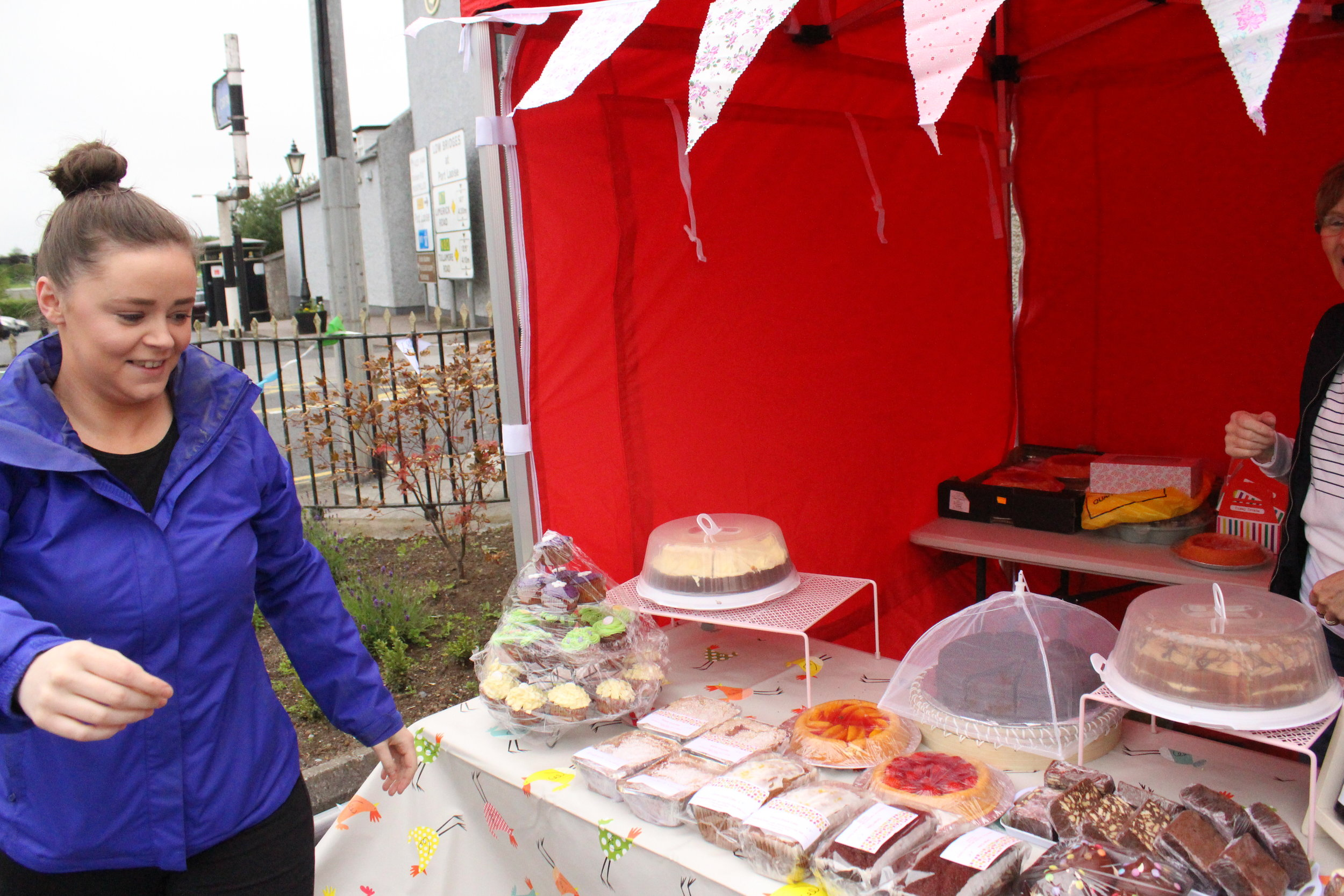 - Sarah Tynan- cakes, jams, chutney, quiche and special occasion cakes are her specieality