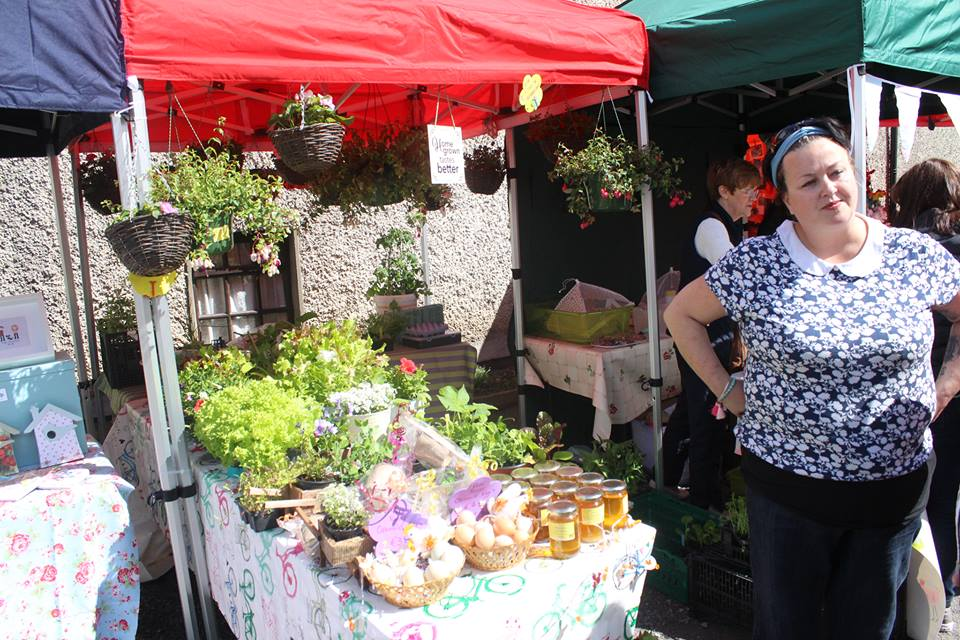 - Rach Walsh - The hippie Gardner: GIY Gardner brings plants & fresh garden produce, free range eggs, duck eggs & free range honey