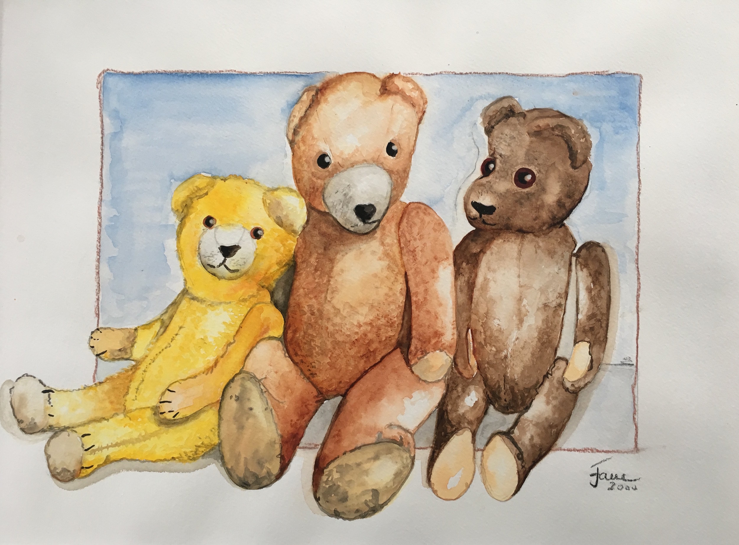teddies from childhood 4