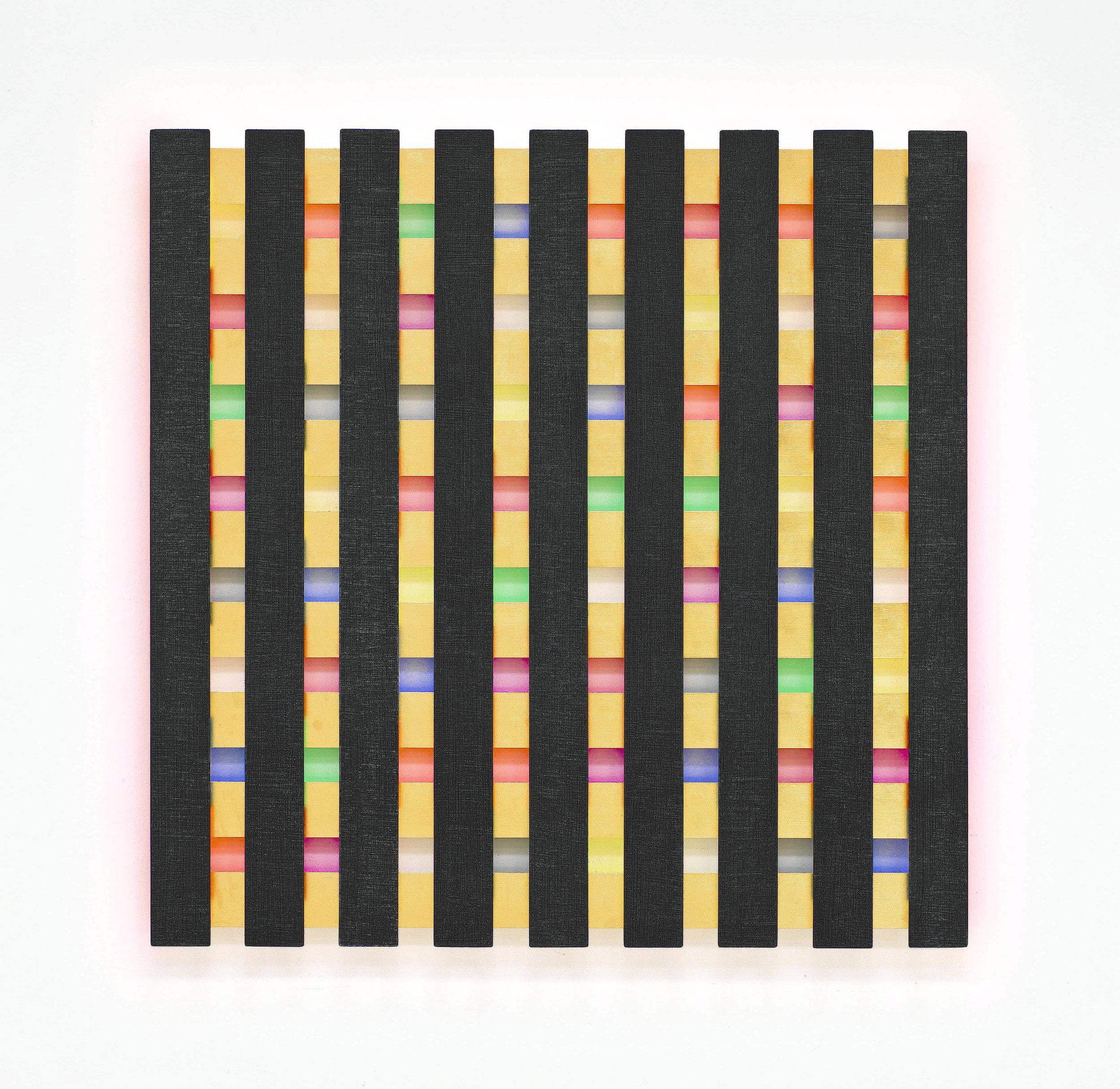 2i akril, les, 121 x 121 cm, 2009.jpg