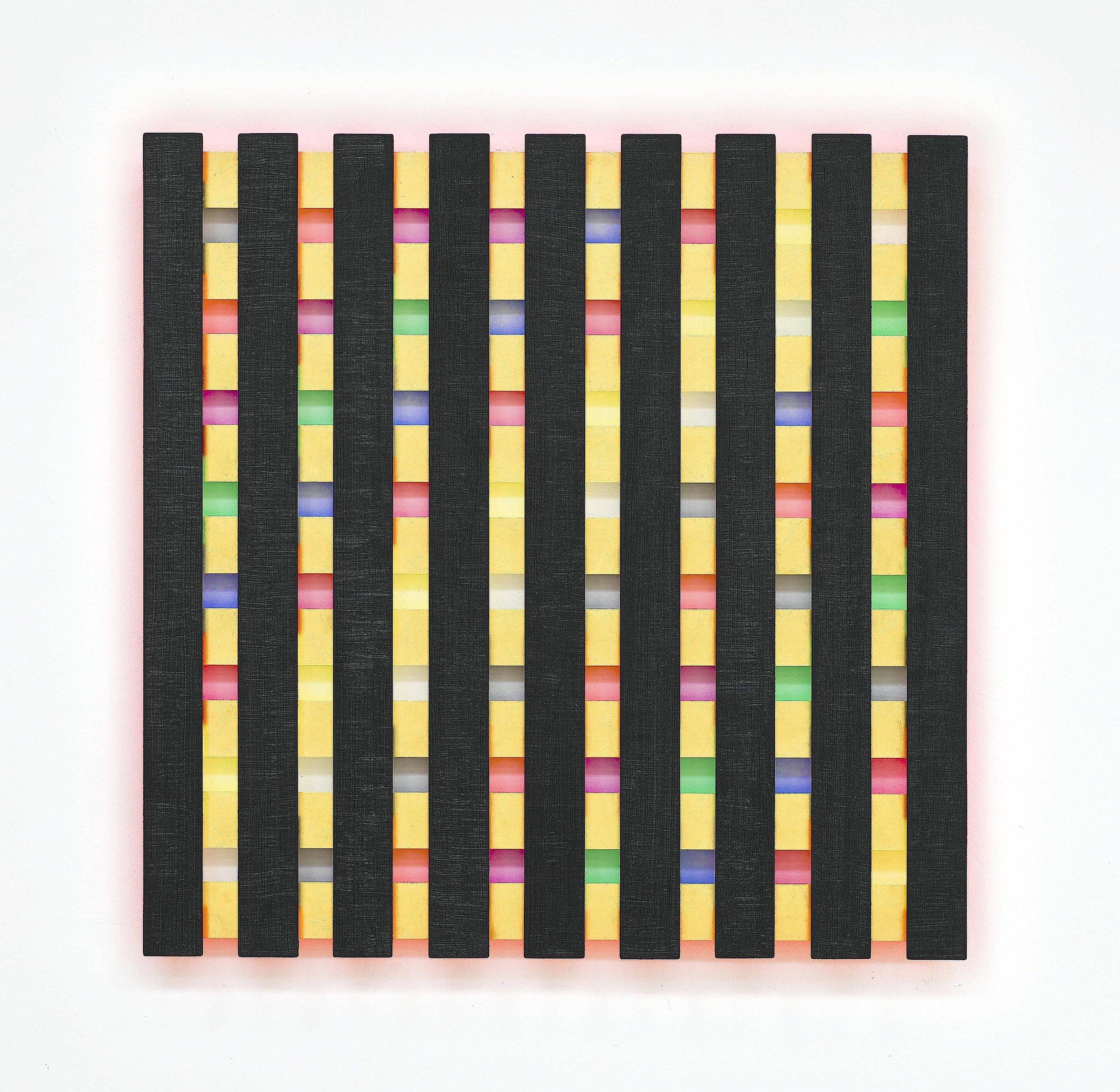 2j akril, les, 121 x 121 cm, 2009.jpg
