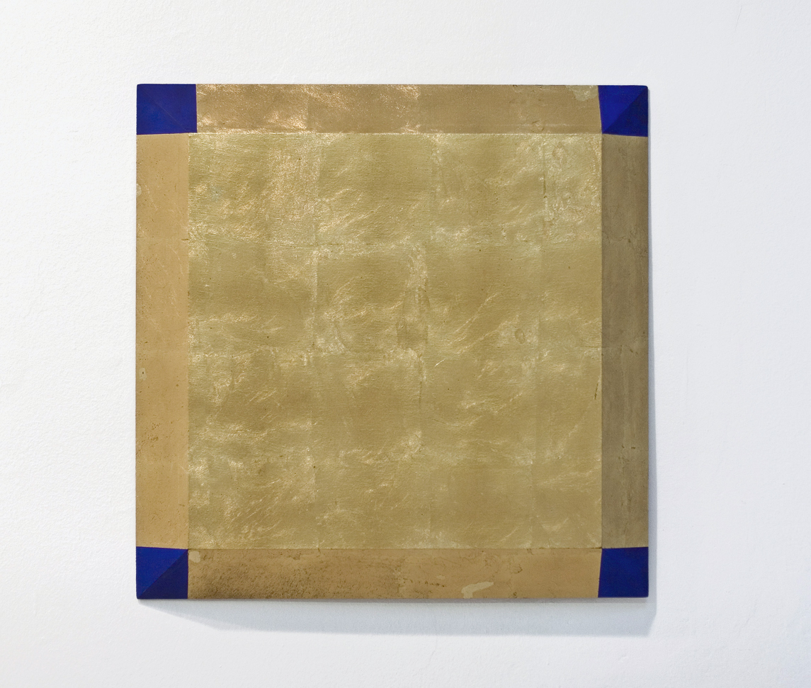 akril, medenina, les, 70 x 70 cm, 1999