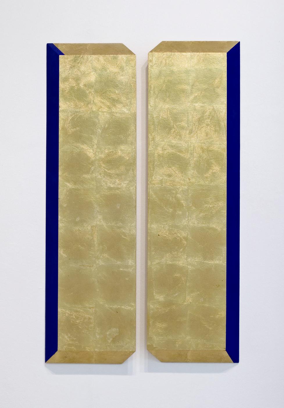 akril, medenina, les, 1125 x 75 cm, 2000