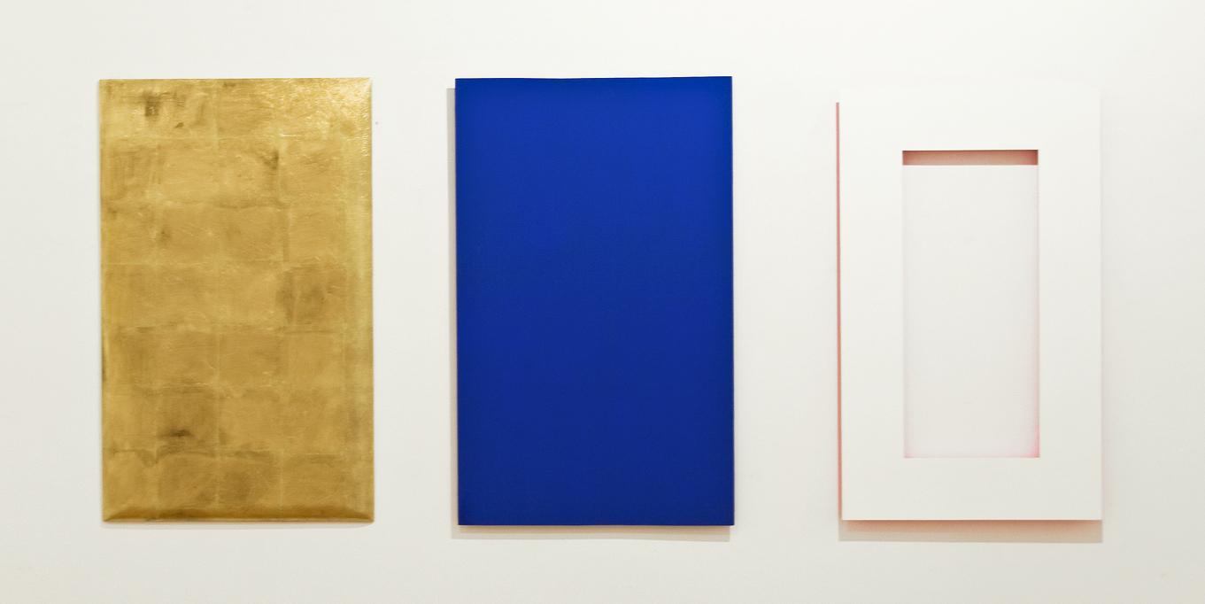medenina, les, 110 x 75 cm (2x), 100 x 65 cm, 2003