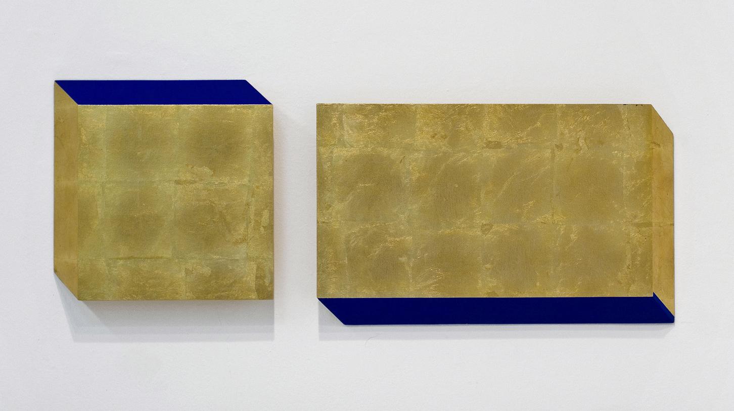 akril, medenina, les, 45 x 113 cm, 2000