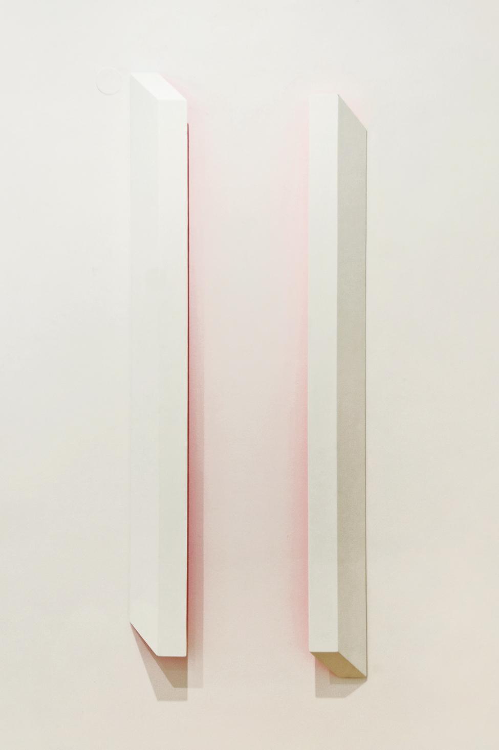 akril, les, 160 x 62 cm, 2004