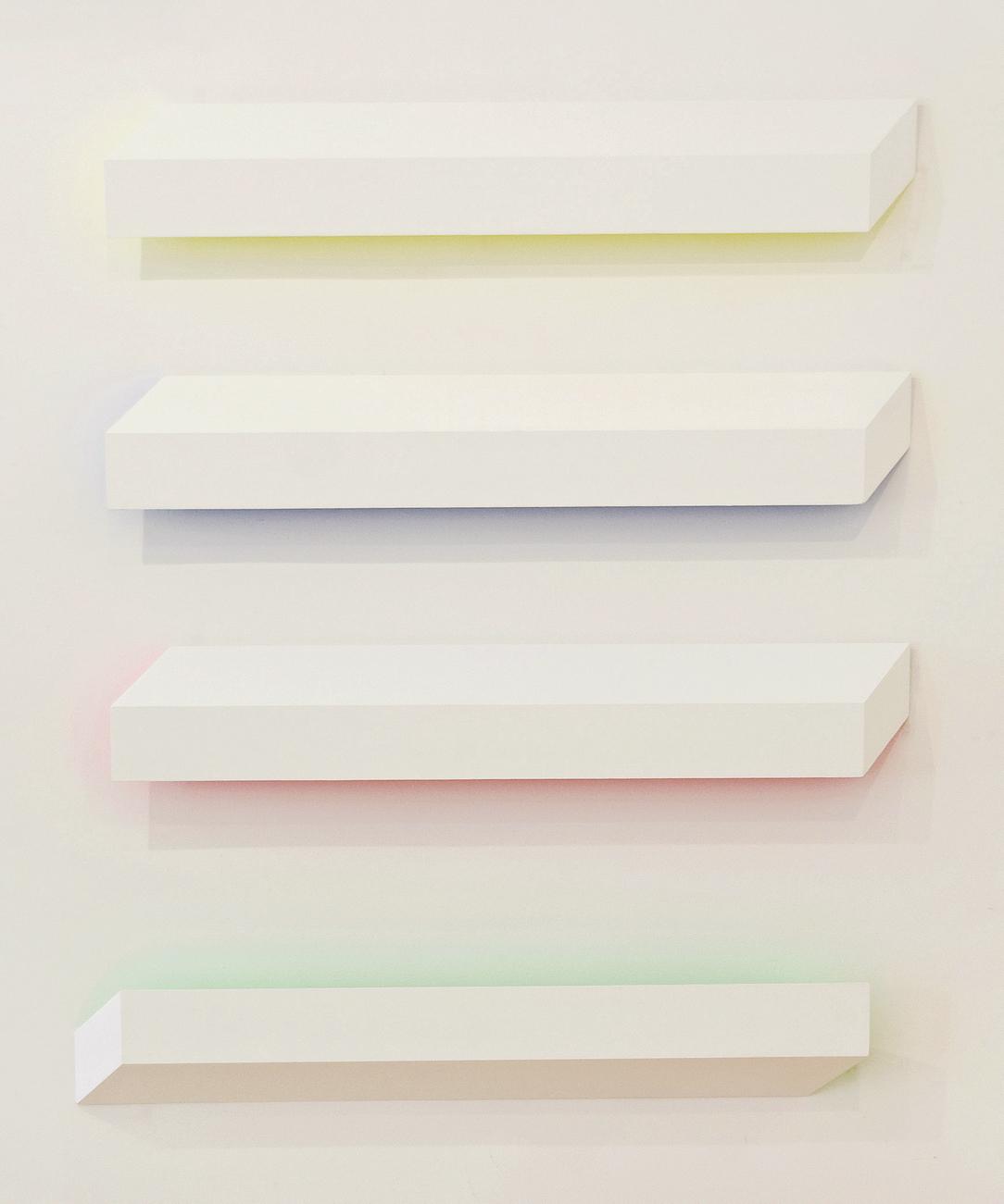 akril, les, 190 x 1600 cm, 2004-5