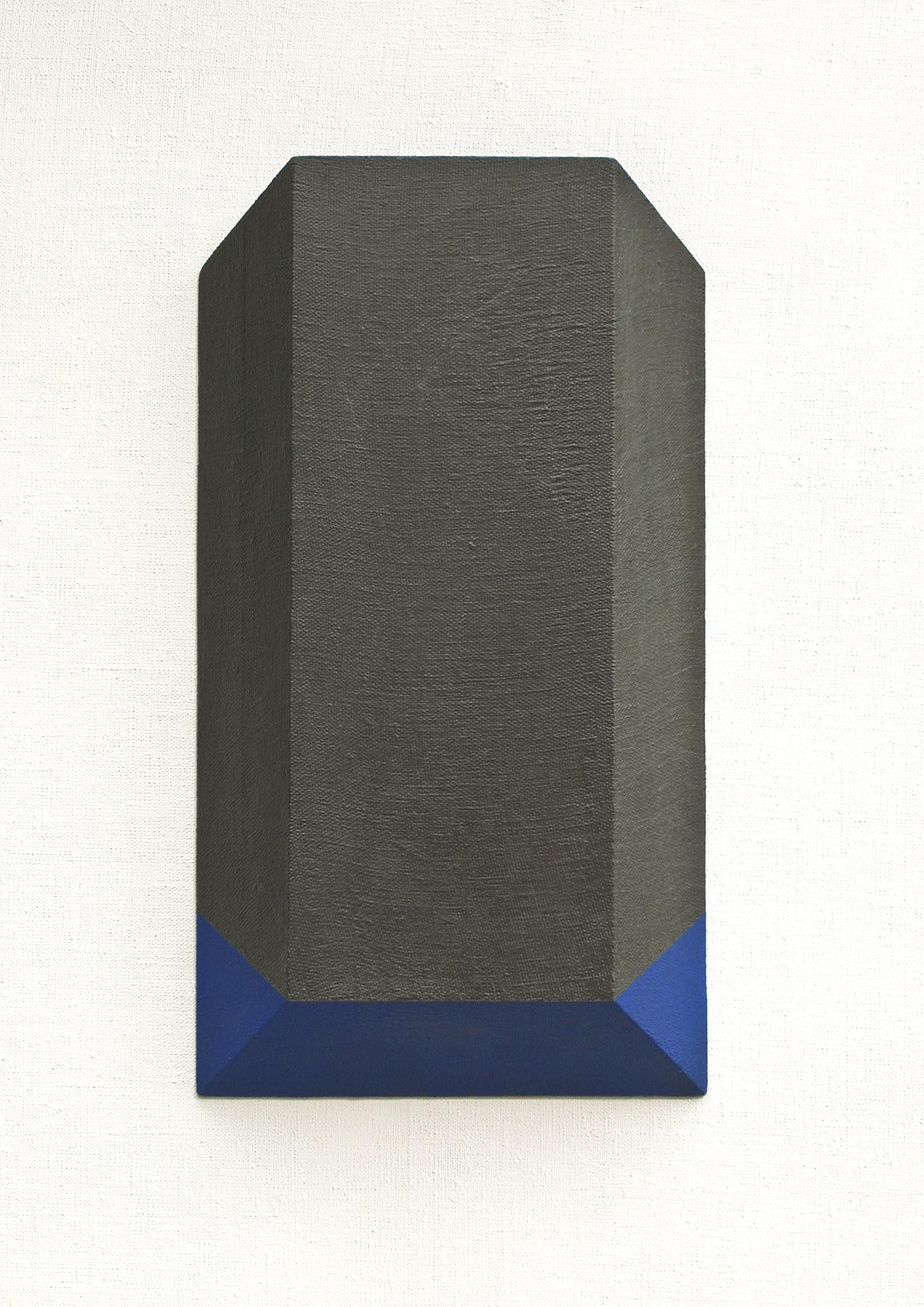 grafit, akril, les, 40 x 22 cm, 1998
