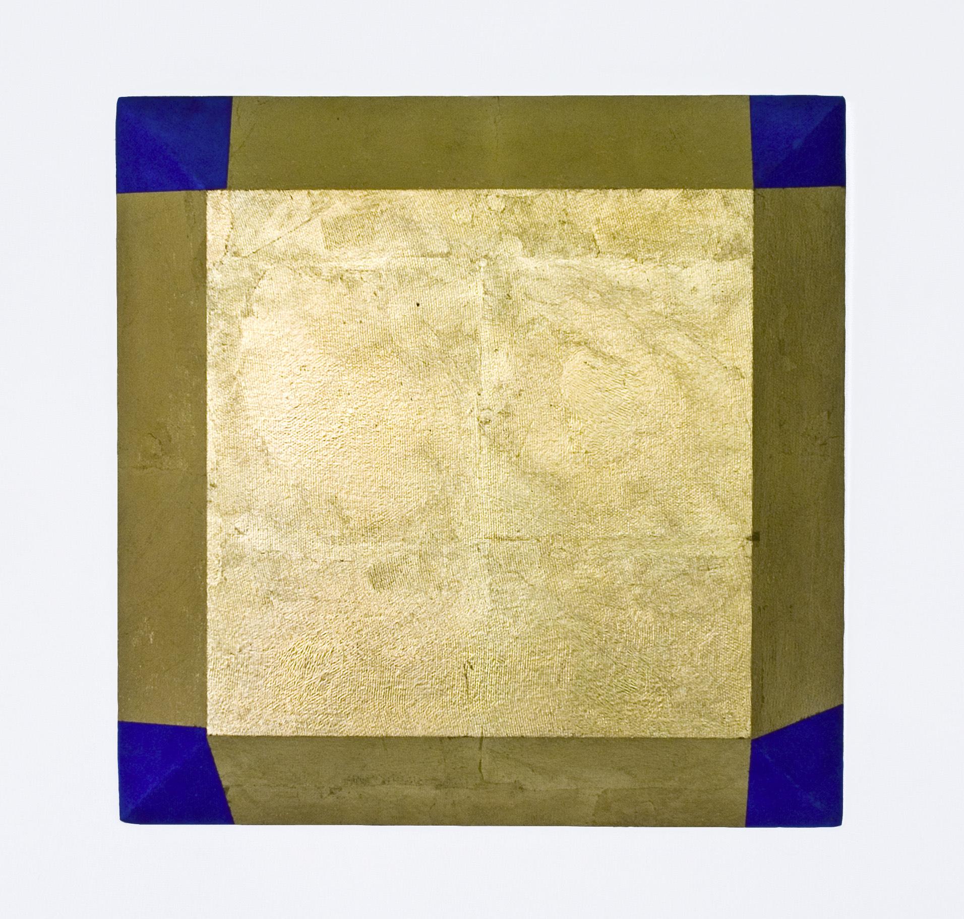 akril, medenina, les, 65 x 65 cm, 2000