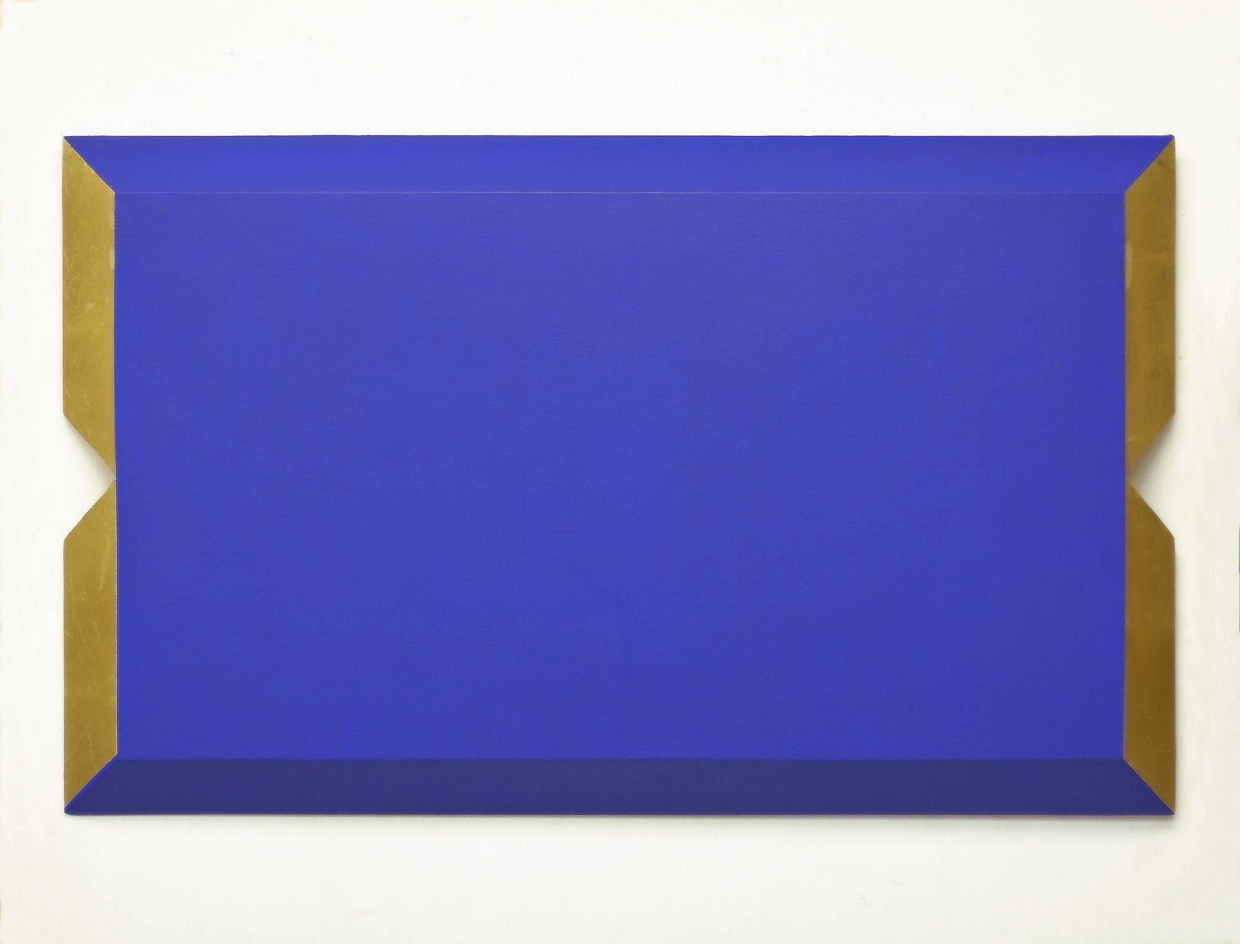 akril, medenina, les, 50 x 82 cm, 2001